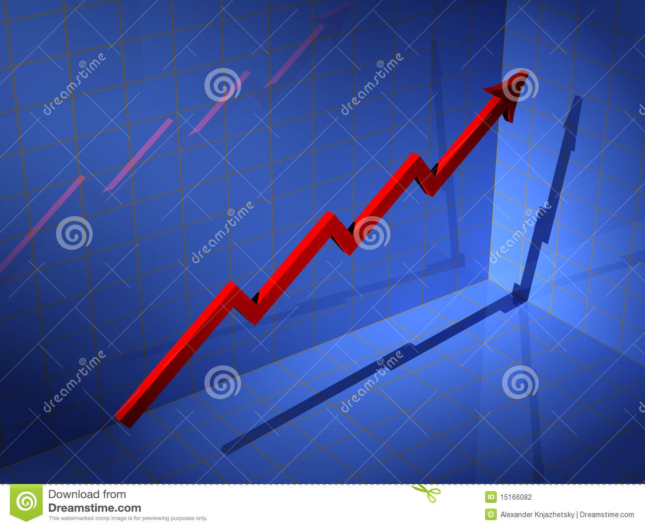 3d Diagram Stock Photography Image 15166082