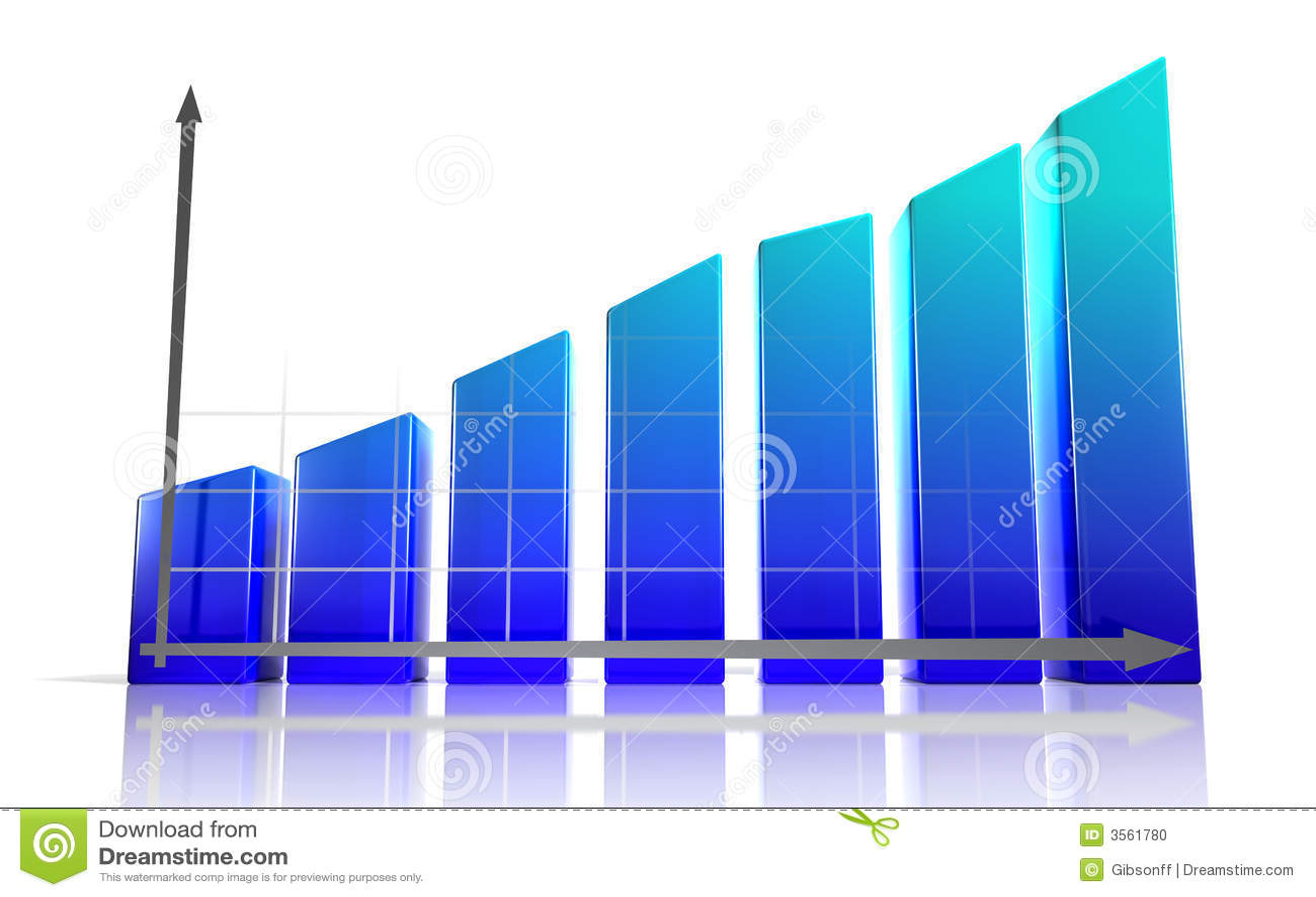 3d Diagram Stock Photo Image 3561780