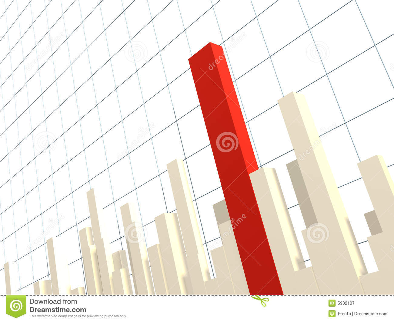 3d Diagram Royalty Free Stock Photography Image 5902107