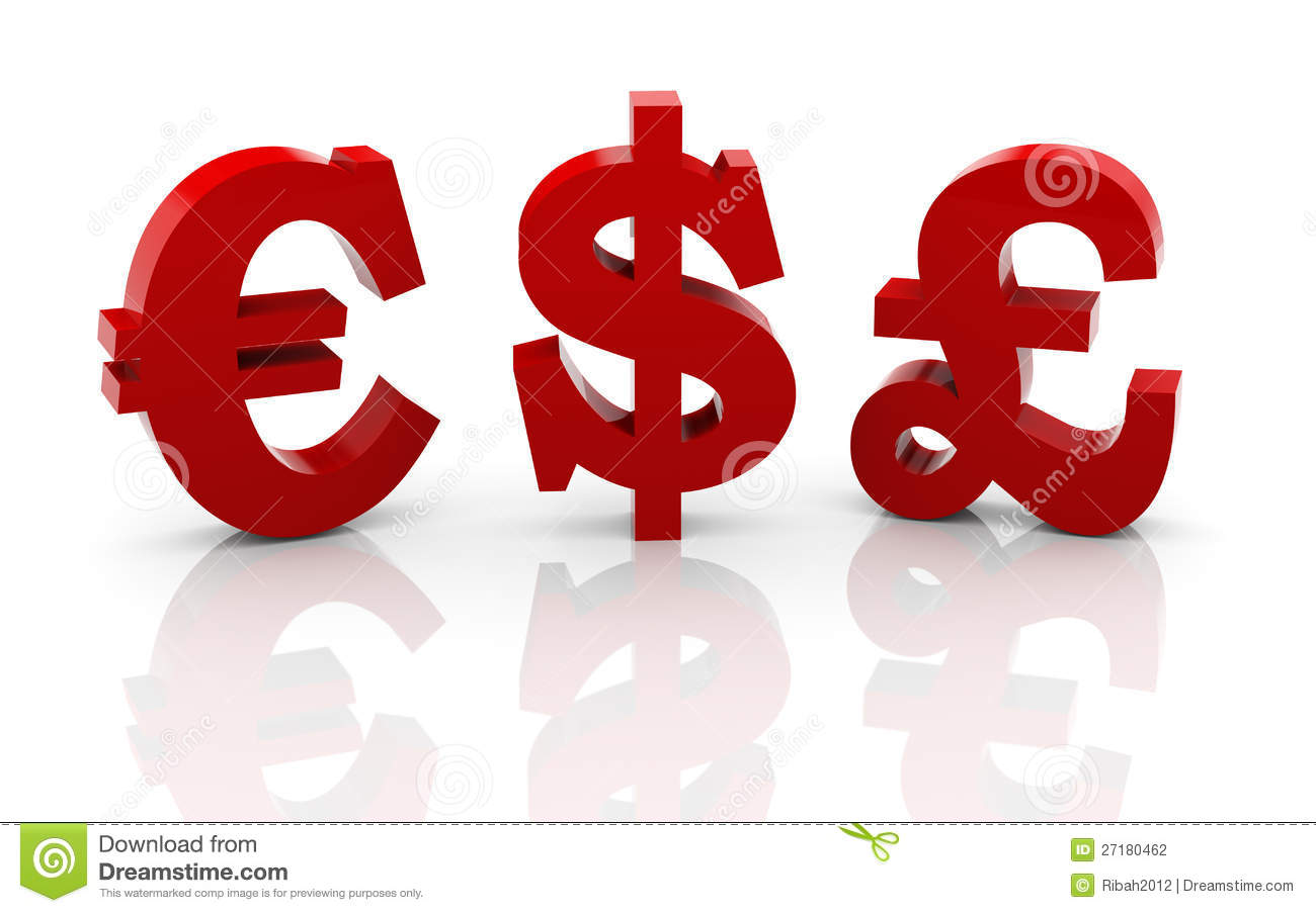 3d different currencies symbols stock illustration illustration 3d different currencies symbols biocorpaavc Image collections