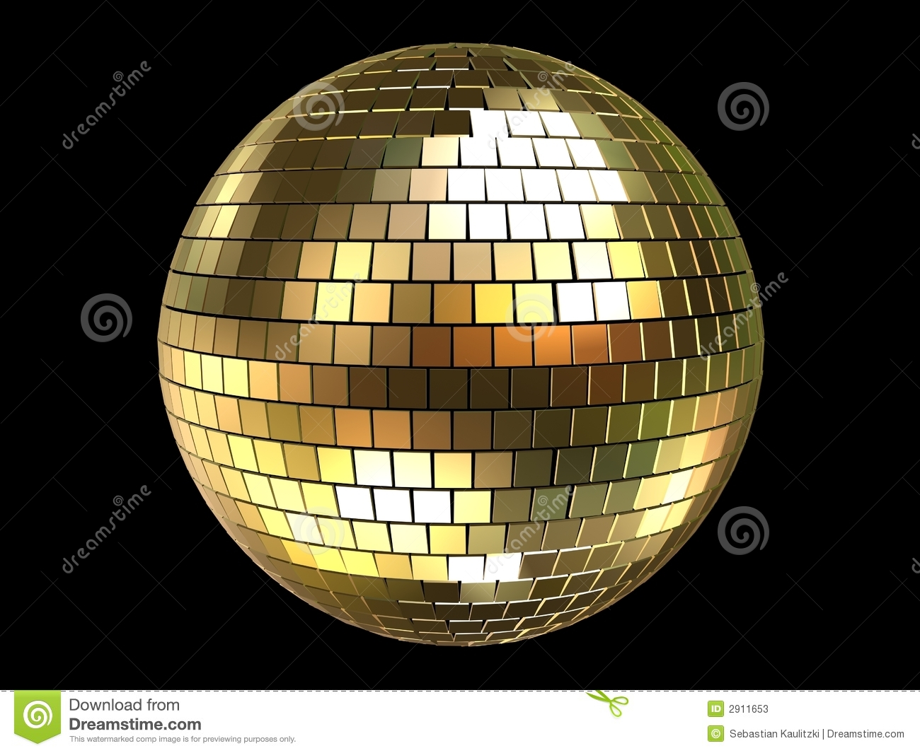 3d Disco Ball Stock Photos Image 2911653