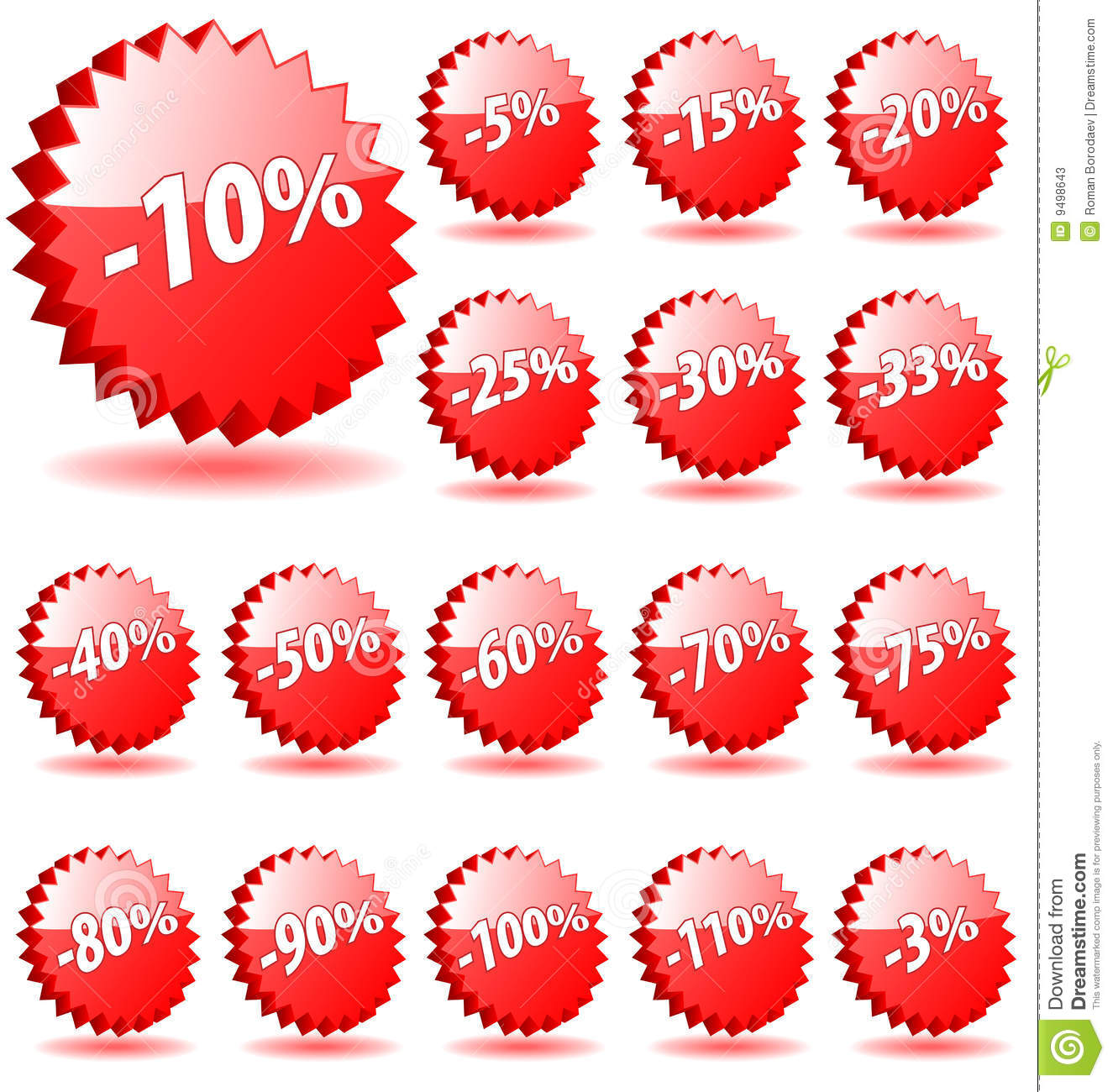 Shopping shop discount promotion vector badges badge special offer percent percents tag sticker icon label star banner coupon 5