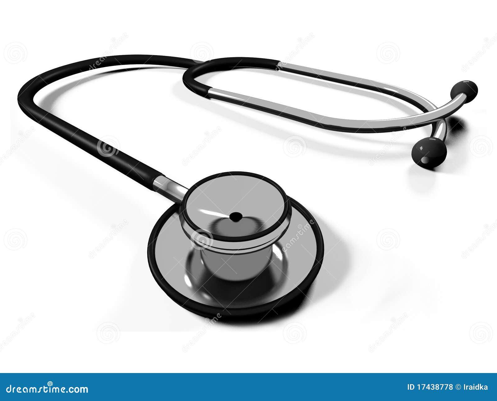 Stethoscope Isolated Royalty Free Stock Photo - Image: 1583655