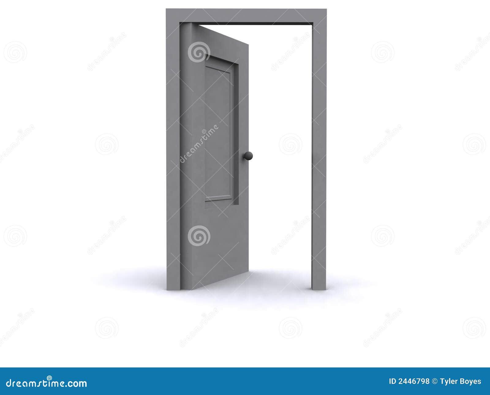 3d Door Royalty Free Stock Photos Image 2446798