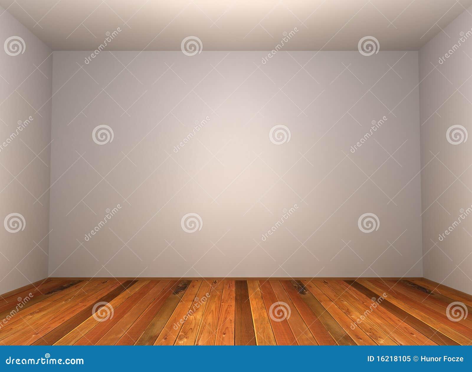 3d empty room with wood parquet stock illustration image 16218105. Black Bedroom Furniture Sets. Home Design Ideas