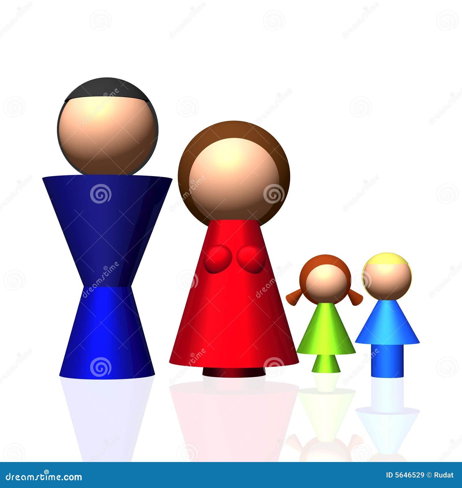 3D Family Icon
