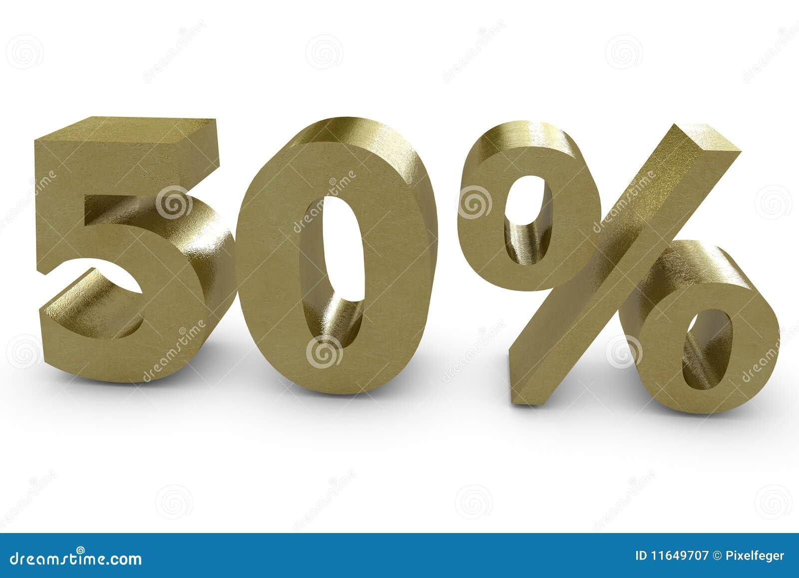 3d femtio procent