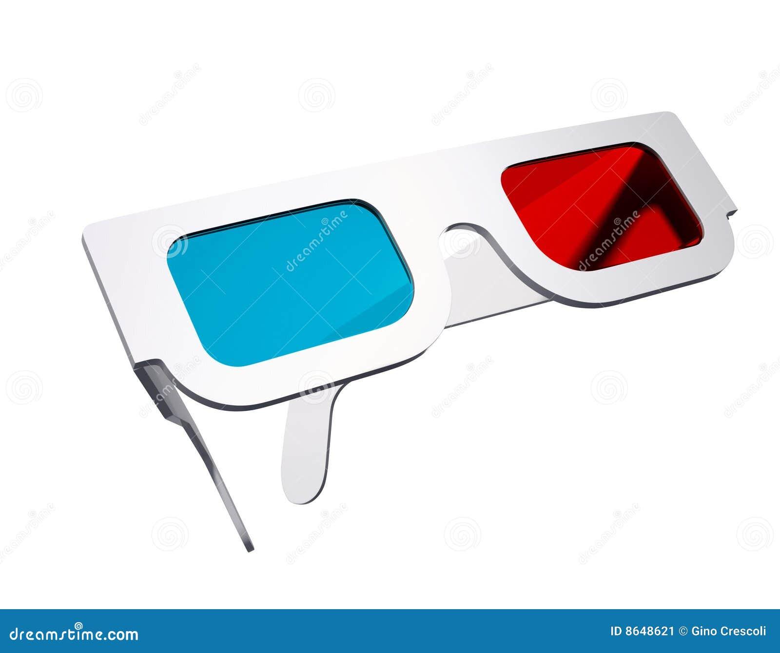 3d Glasses Stock Image - Image: 8648621