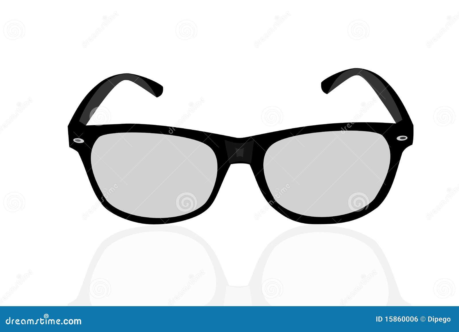 3d Glasses, Illustration Royalty Free Stock Image - Image ...