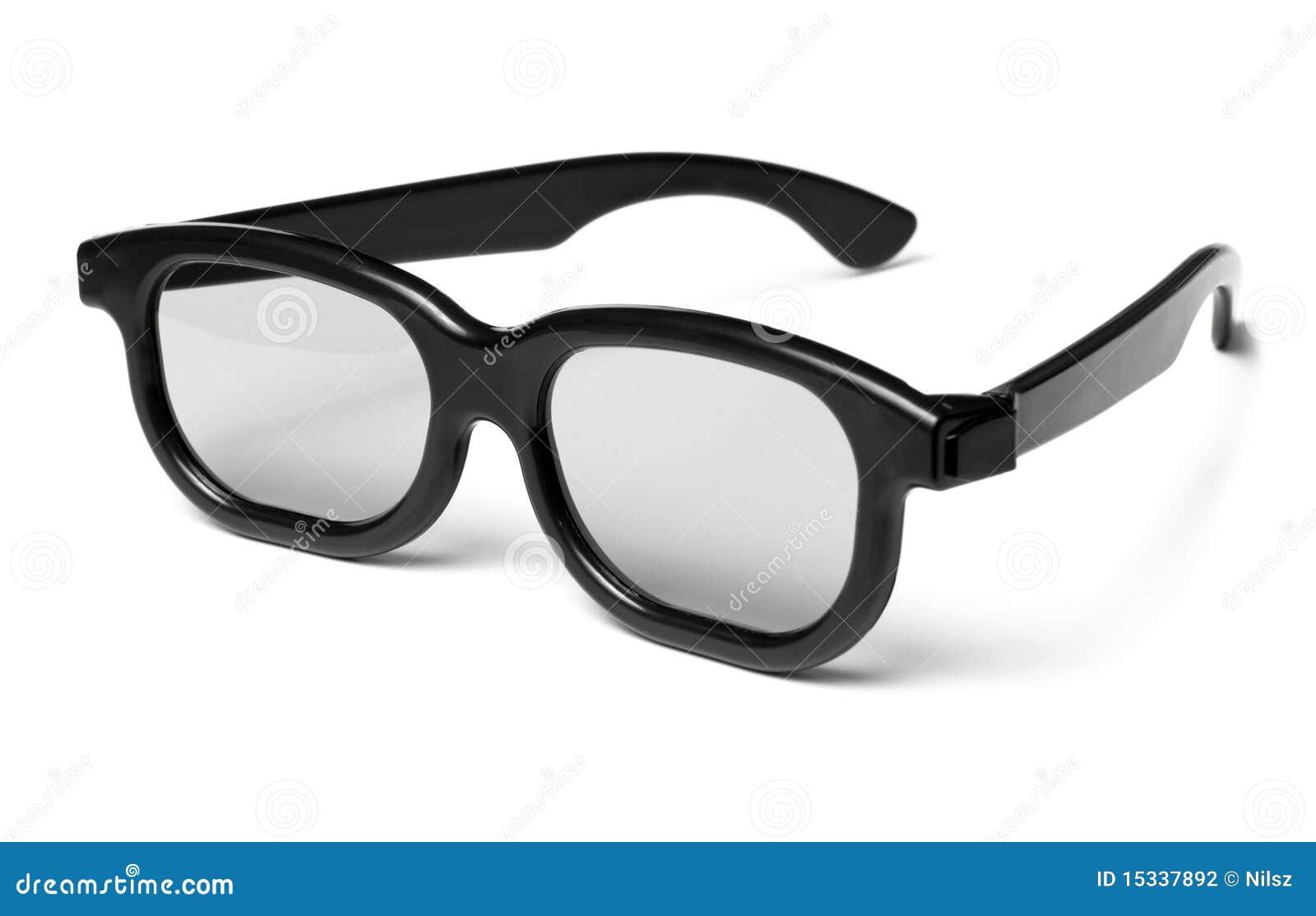 d glasses modern cinema vision stock photography  image  - cinema glasses modern