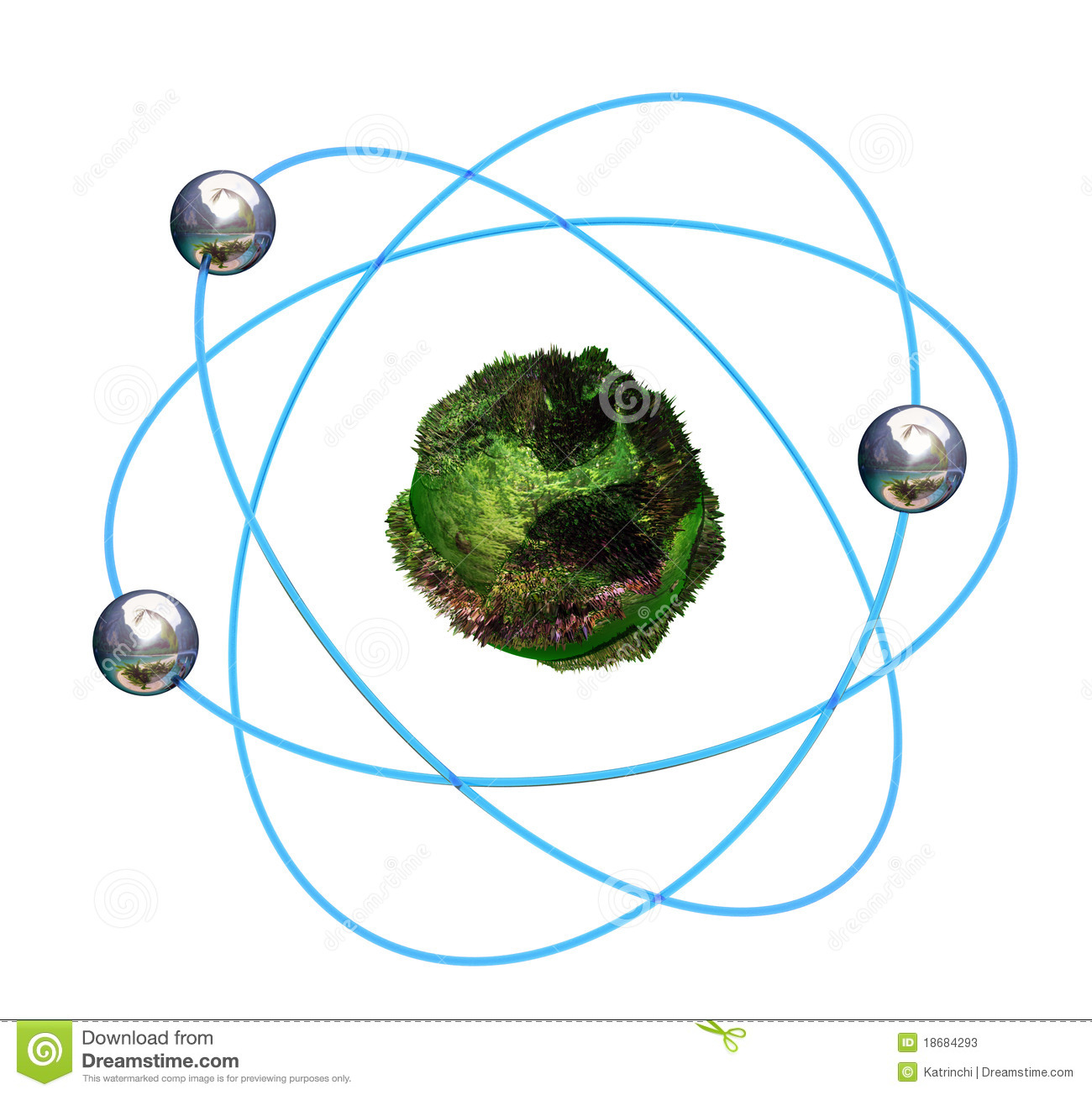 3d Atomic Diagram All Kind Of Wiring Diagrams Oxygen Atom Structure Stock Photo Green With Blue Orbitals Photos Image 18684293 Element