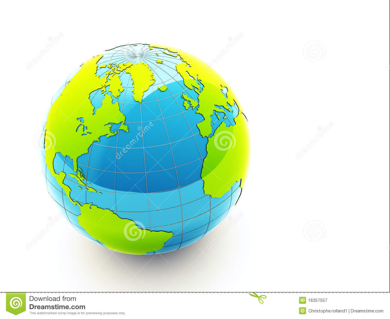 3d Green Earth Royalty Free Stock Photography - Image ...