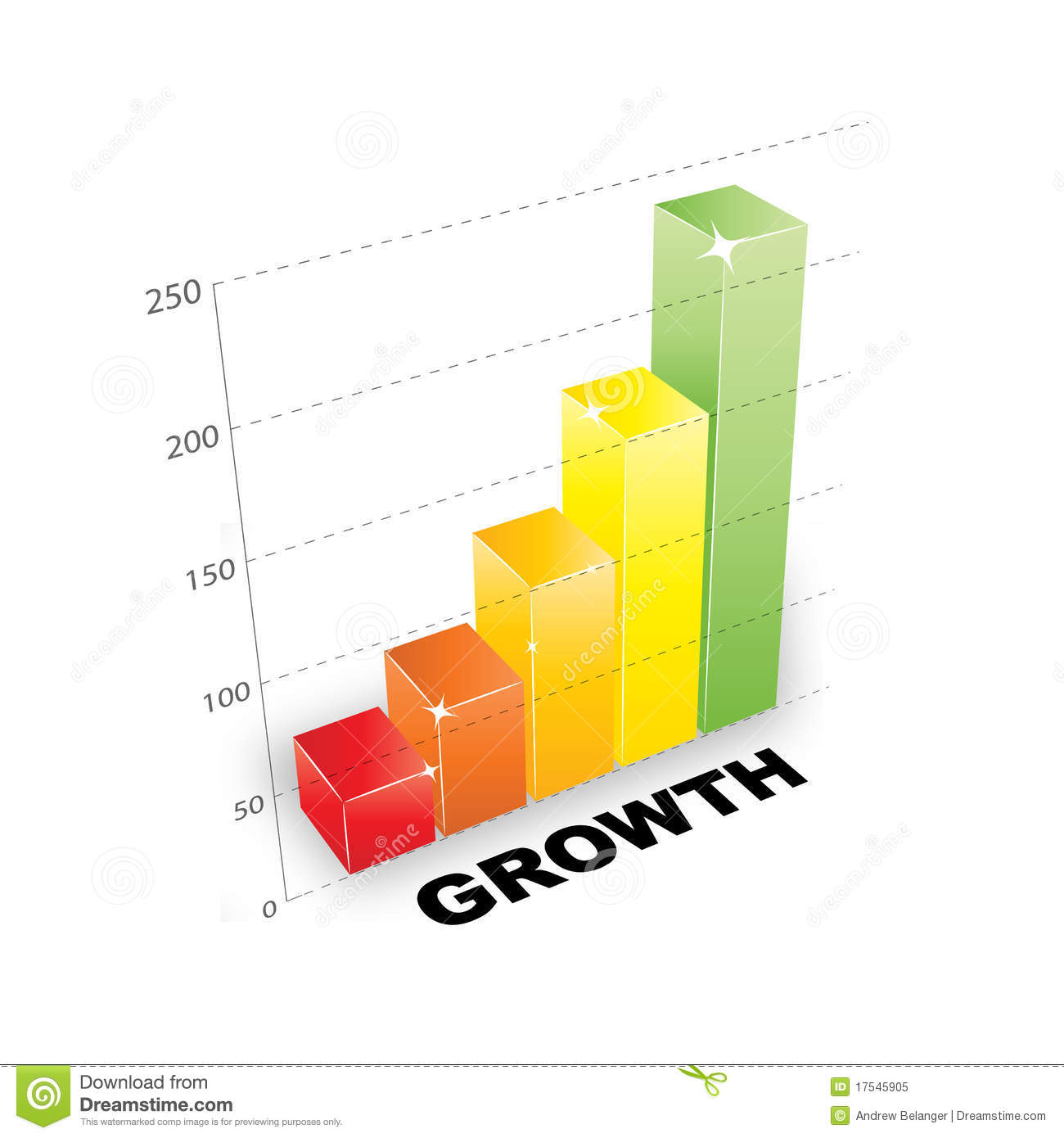 3d growth chart stock vector illustration of goal graph 17545905 3d growth chart nvjuhfo Gallery