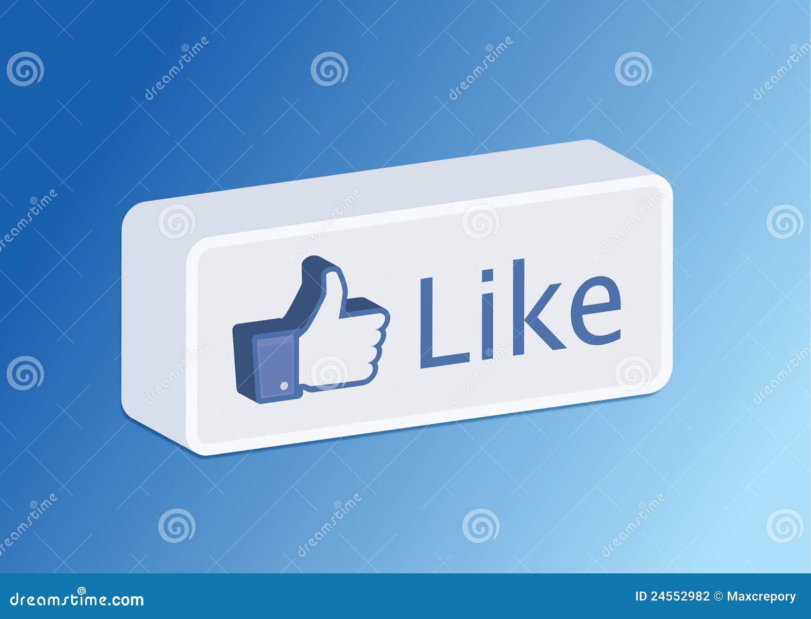 3d guzika facebook lubi