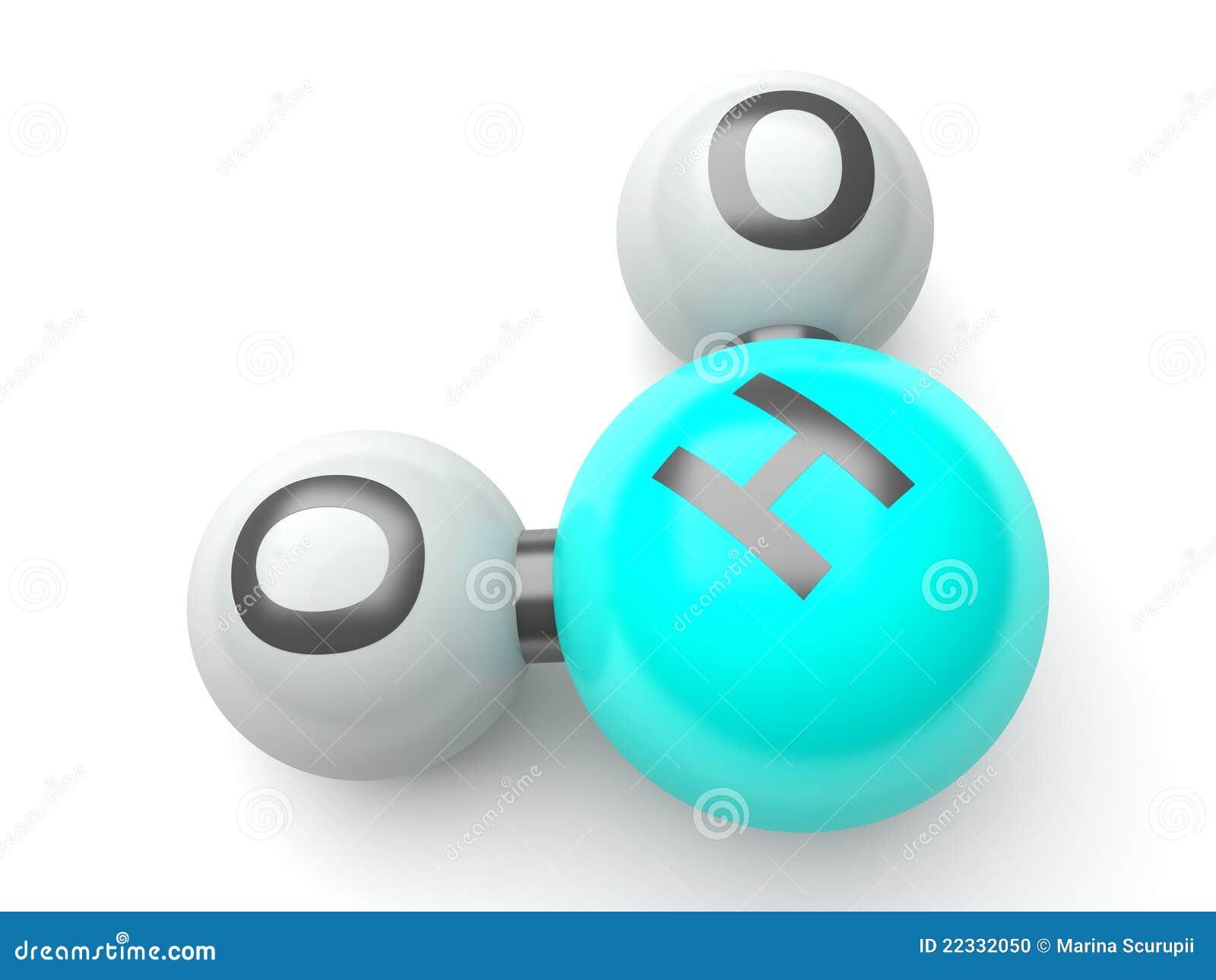 3d H20 Molecules Stock Photo - Image: 22332050