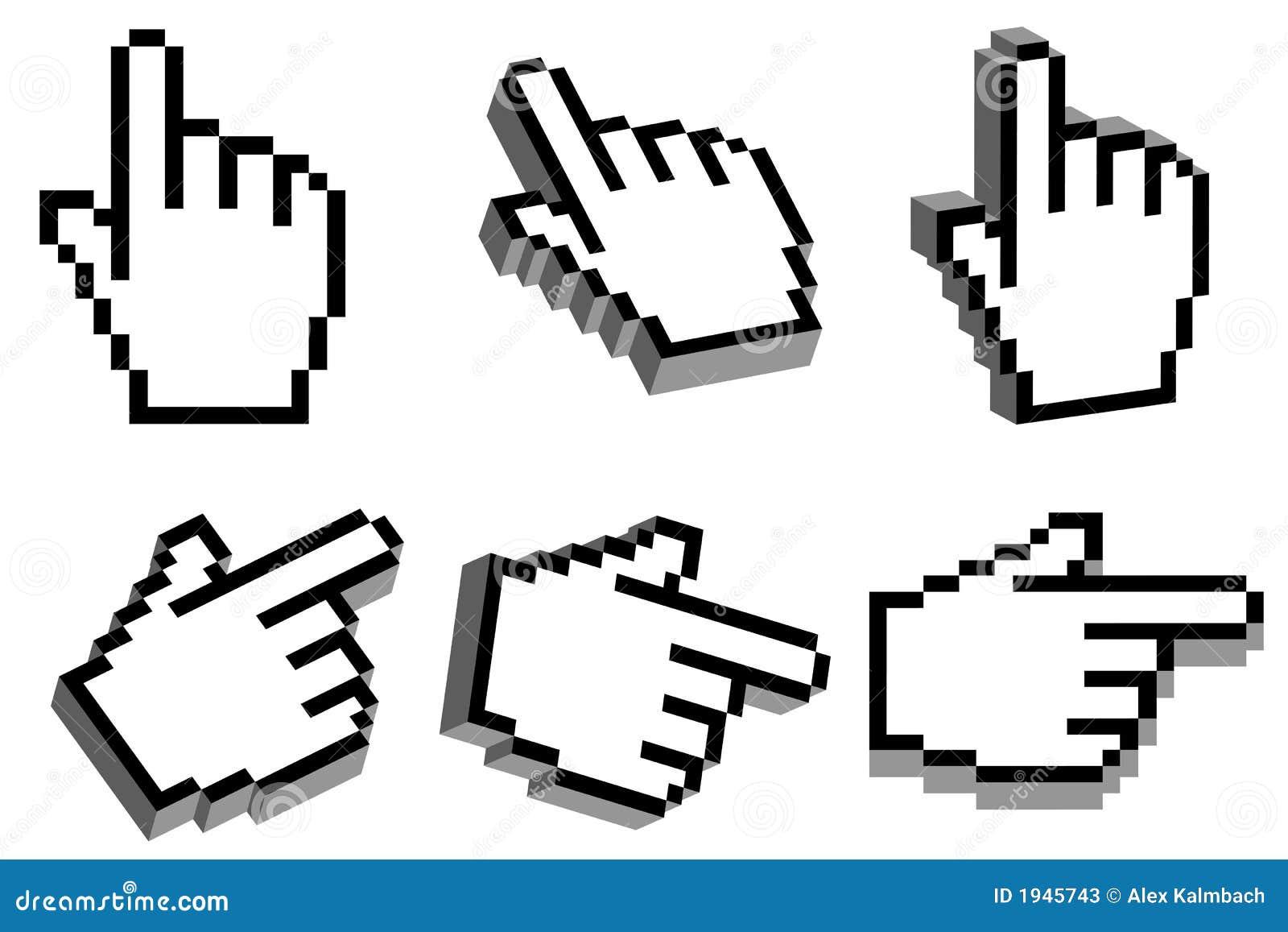 3D handcurseur