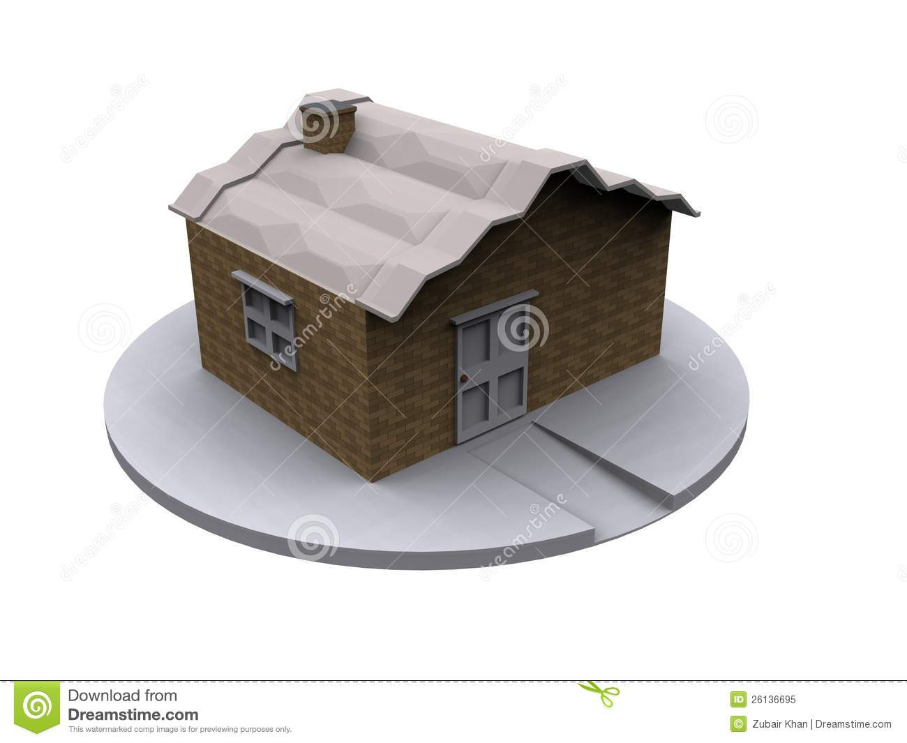 3d home model royalty free stock photo image 26136695 Home 3d model