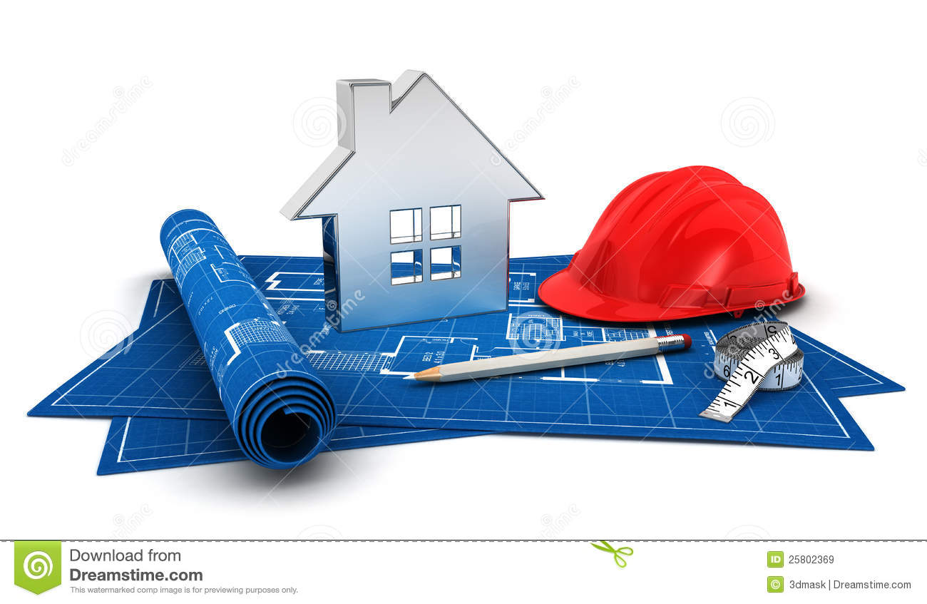 3d house project stock illustration image of dimension for House project online