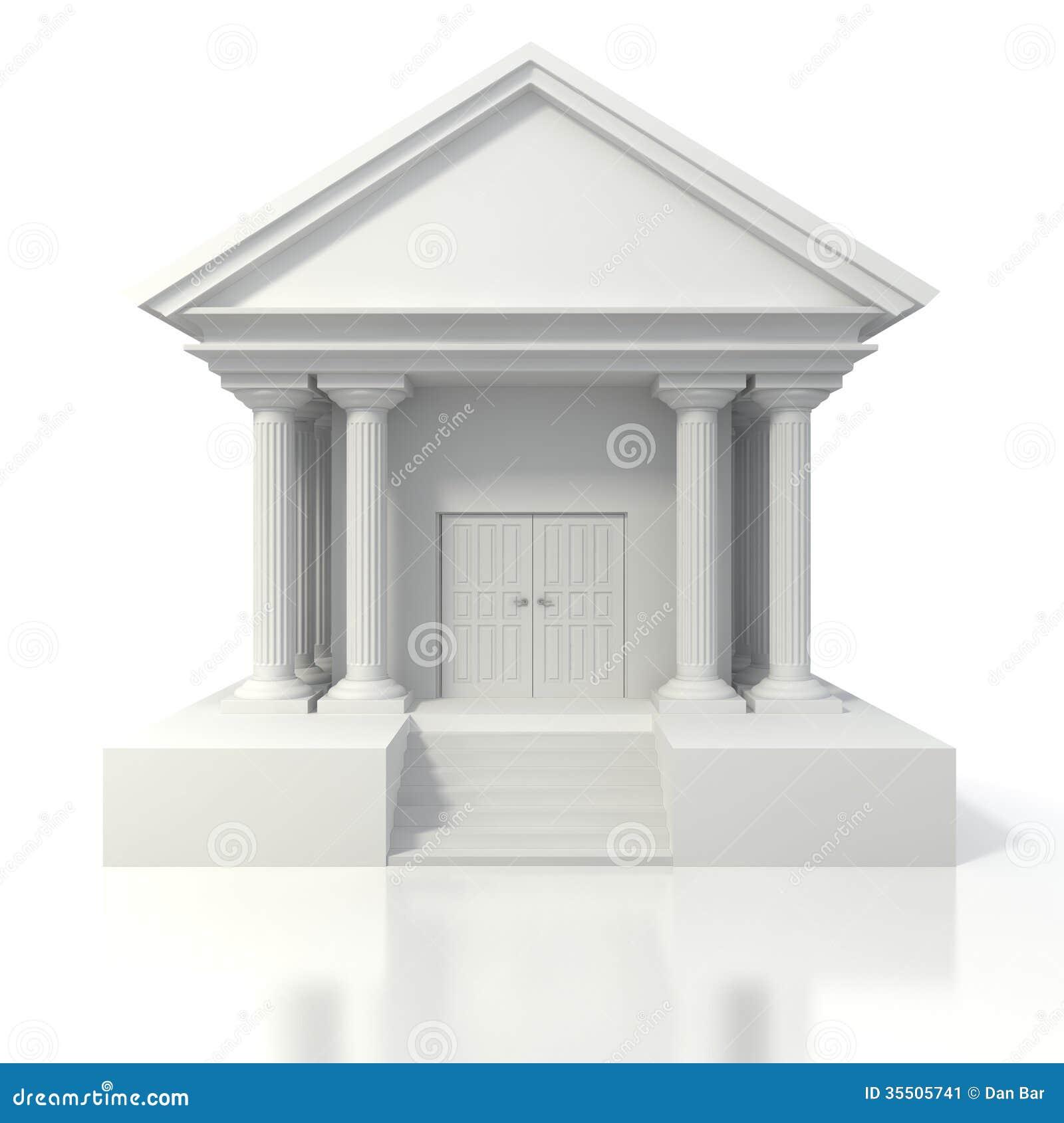 Banco Building Clipart