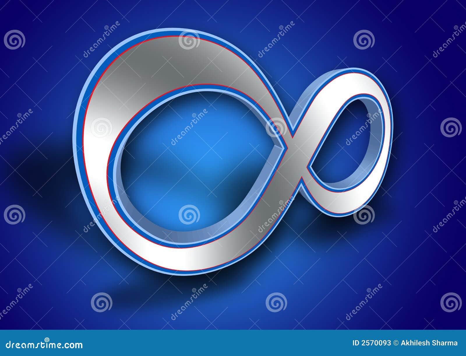 3d Infinity Symbol Stock Illustration Illustration Of Icon 2570093