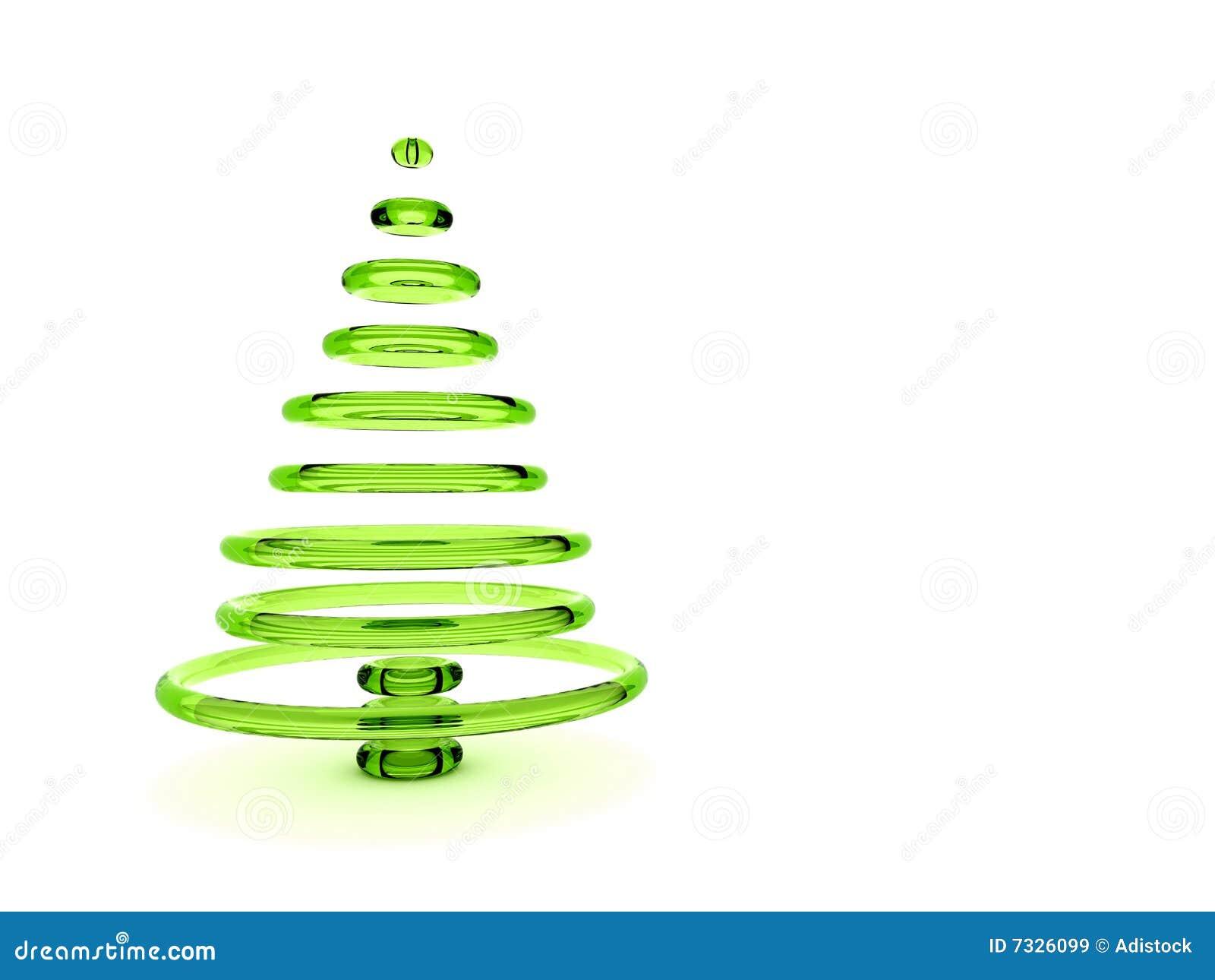 3d Kerstboom Stock Illustratie Illustratie Bestaande Uit Beeld