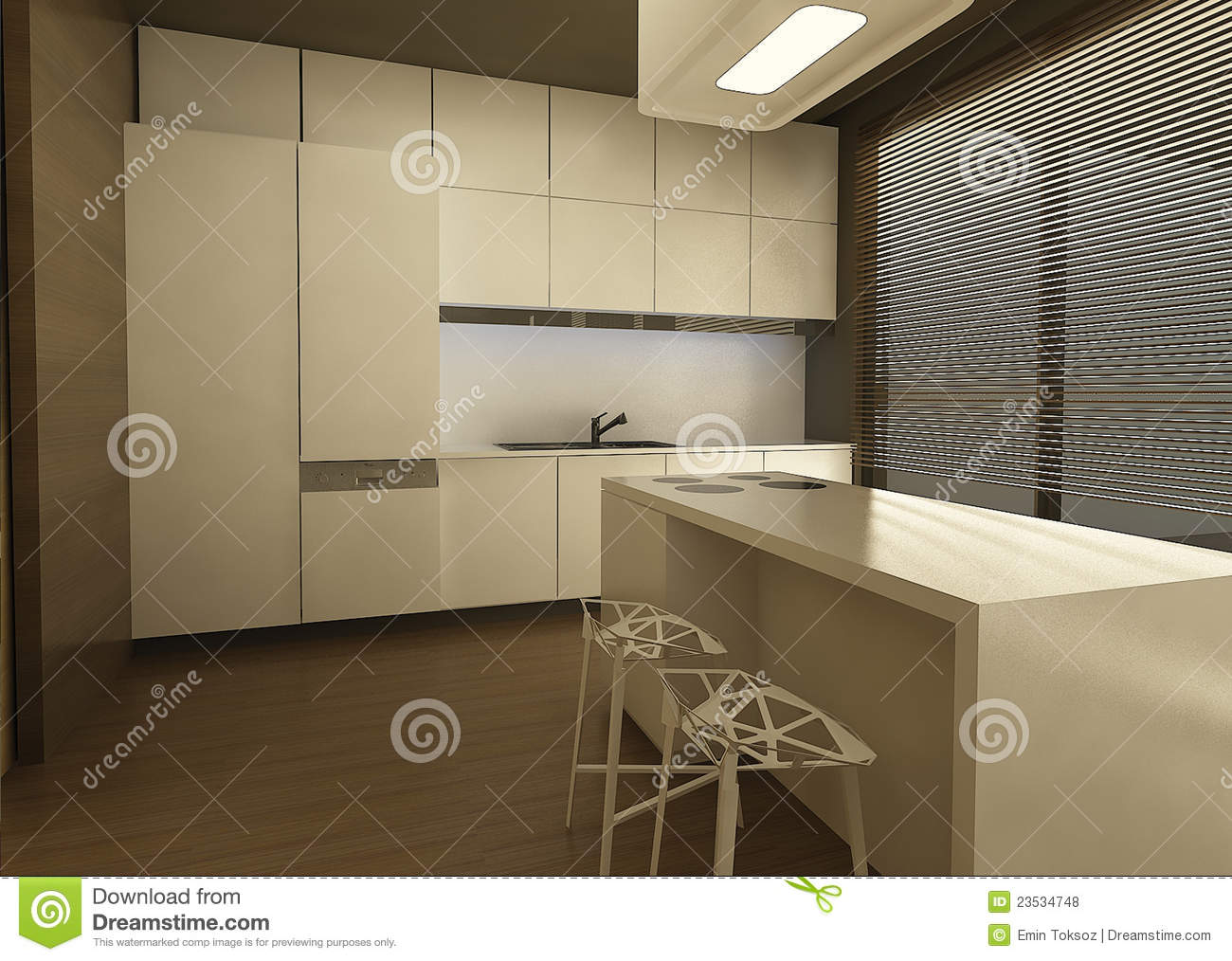 3d Kitchen Design Royalty Free Stock Photos Image 23534748