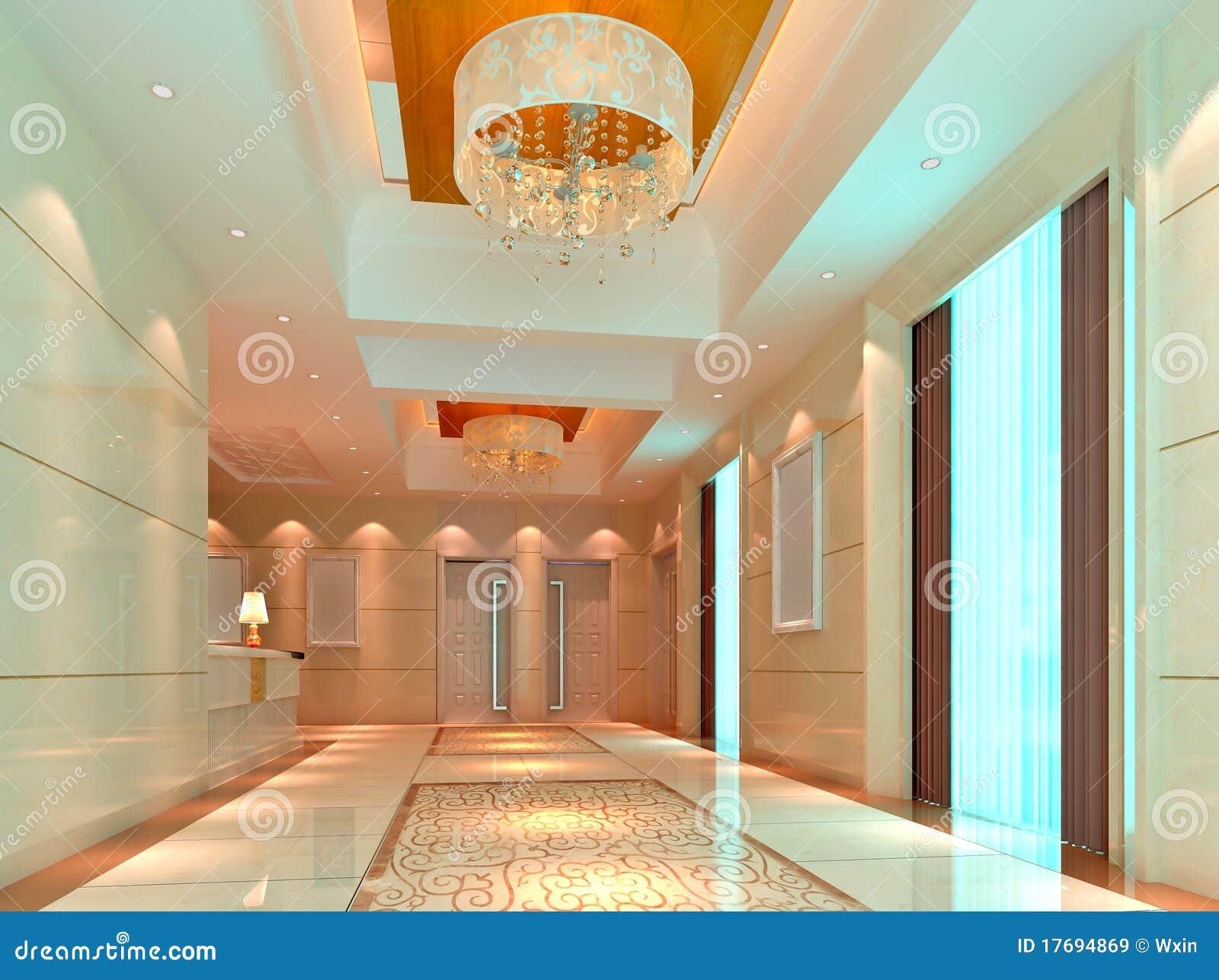 3d korytarz