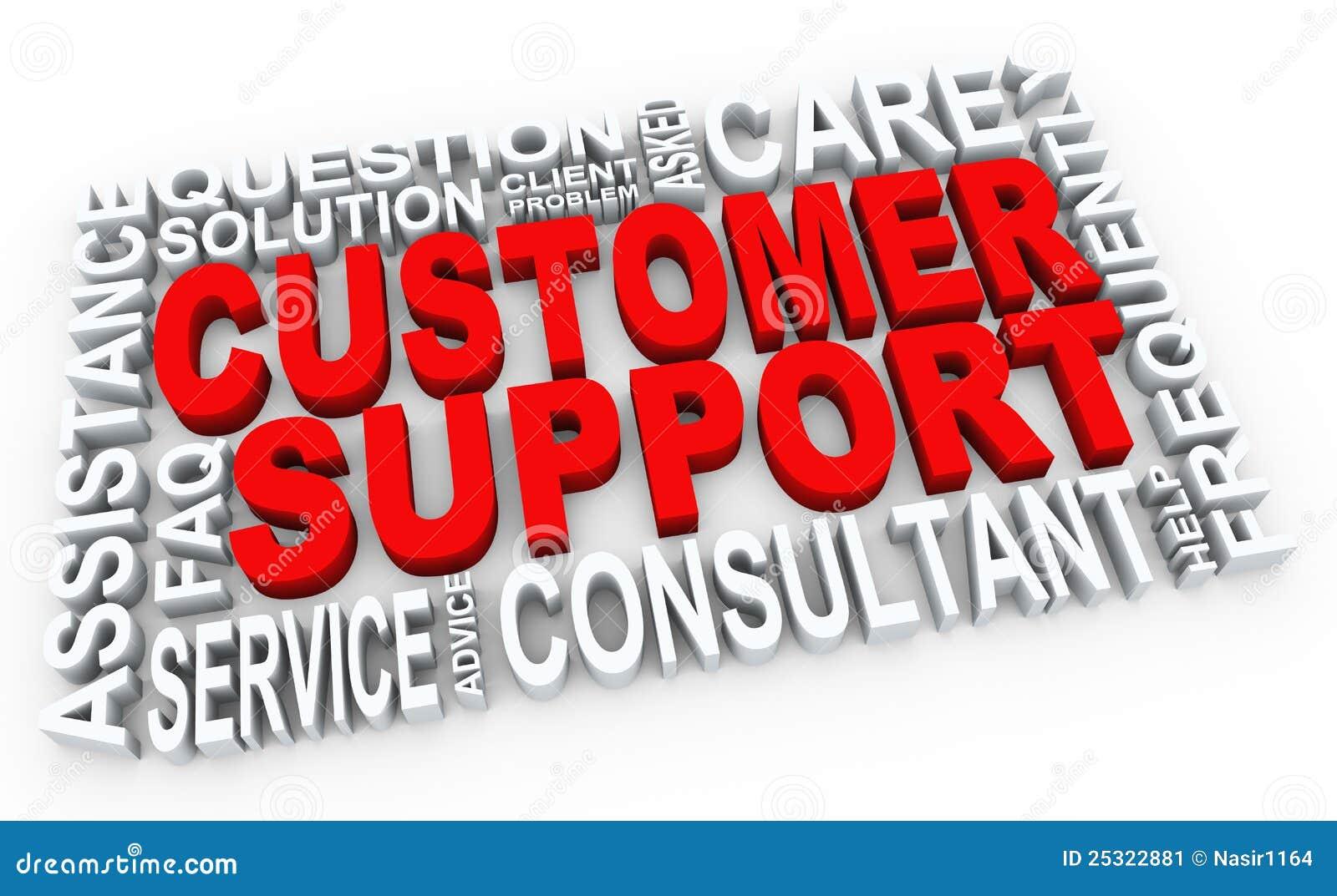 Bilder für die Kundenbetreuung