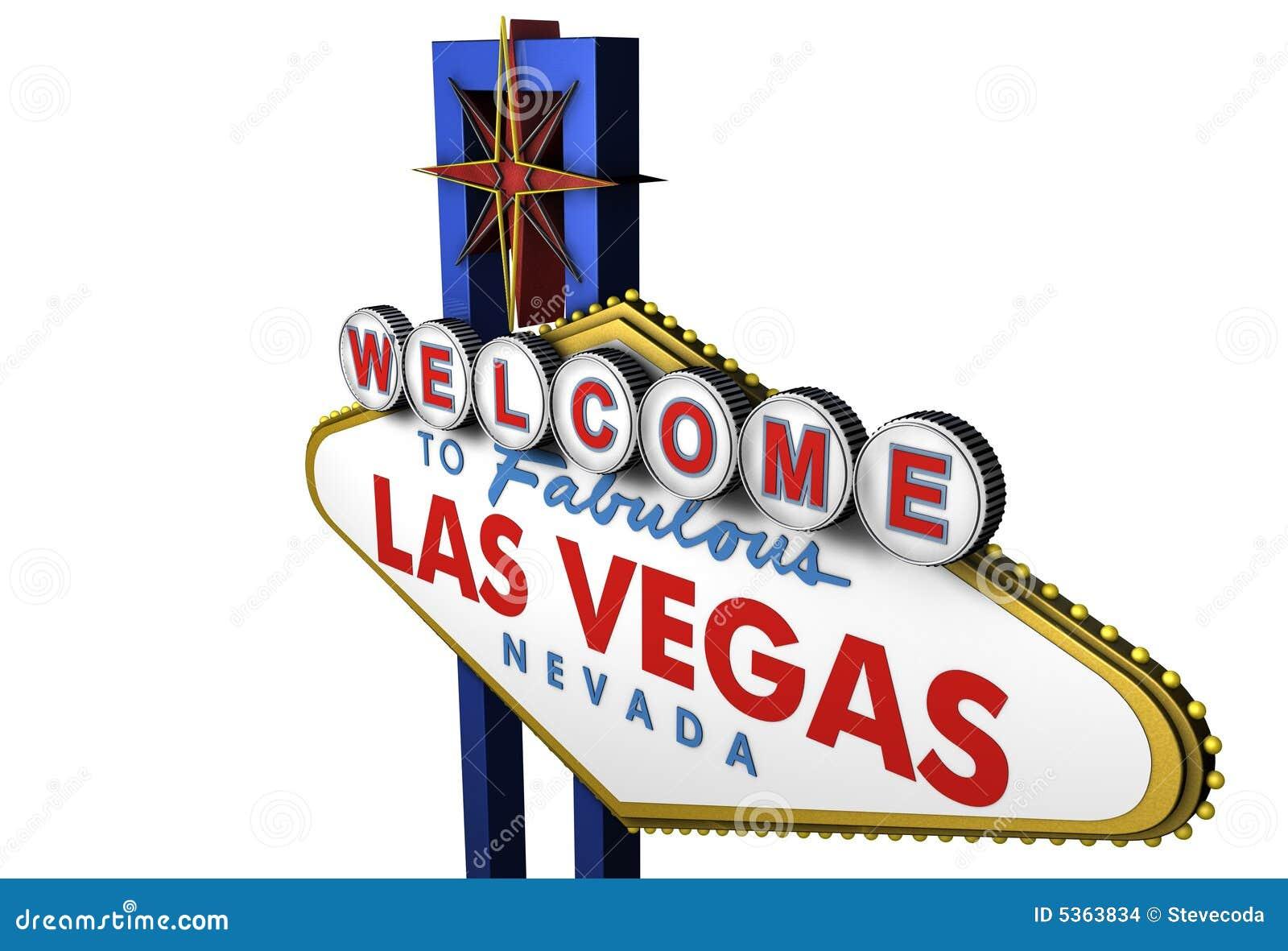 3d Las Vegas Sign, Nevada