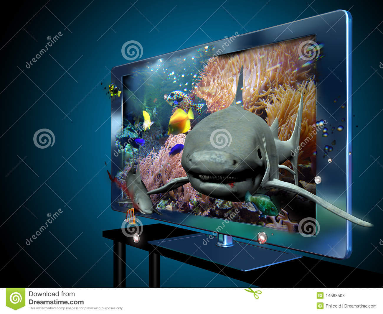 3D and 4k television