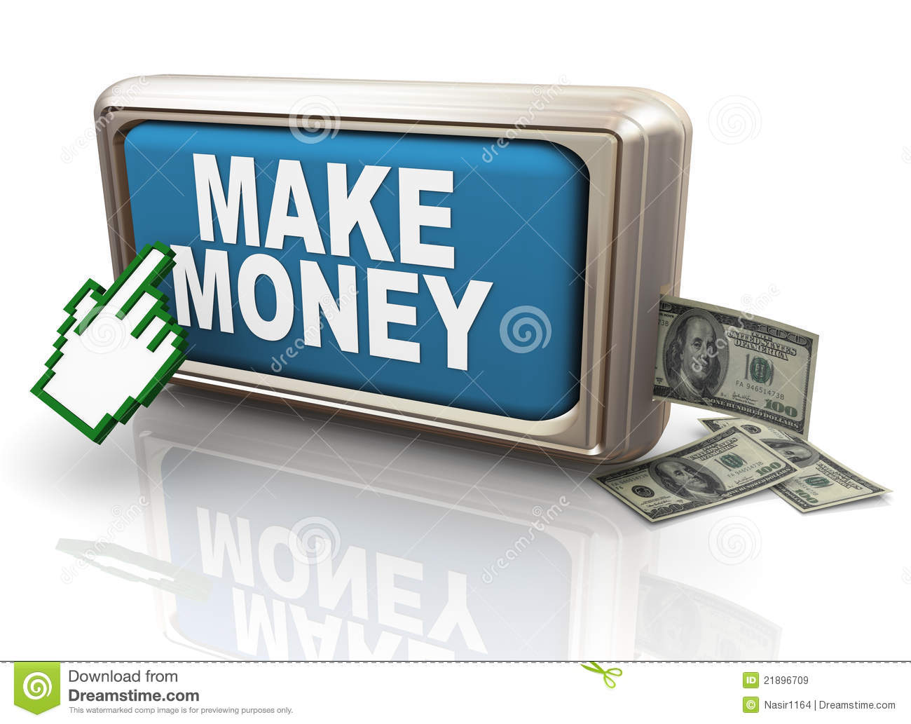 how to make money by clicking
