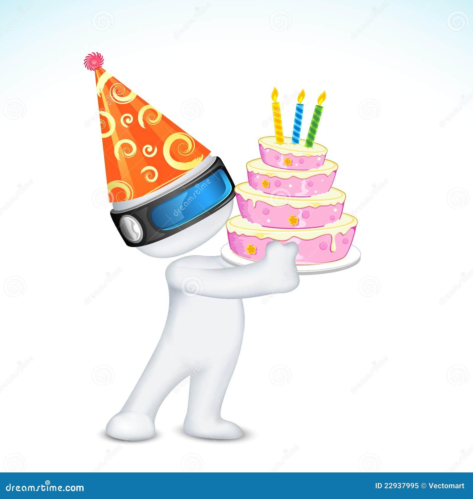 Birthday Cap Decoration