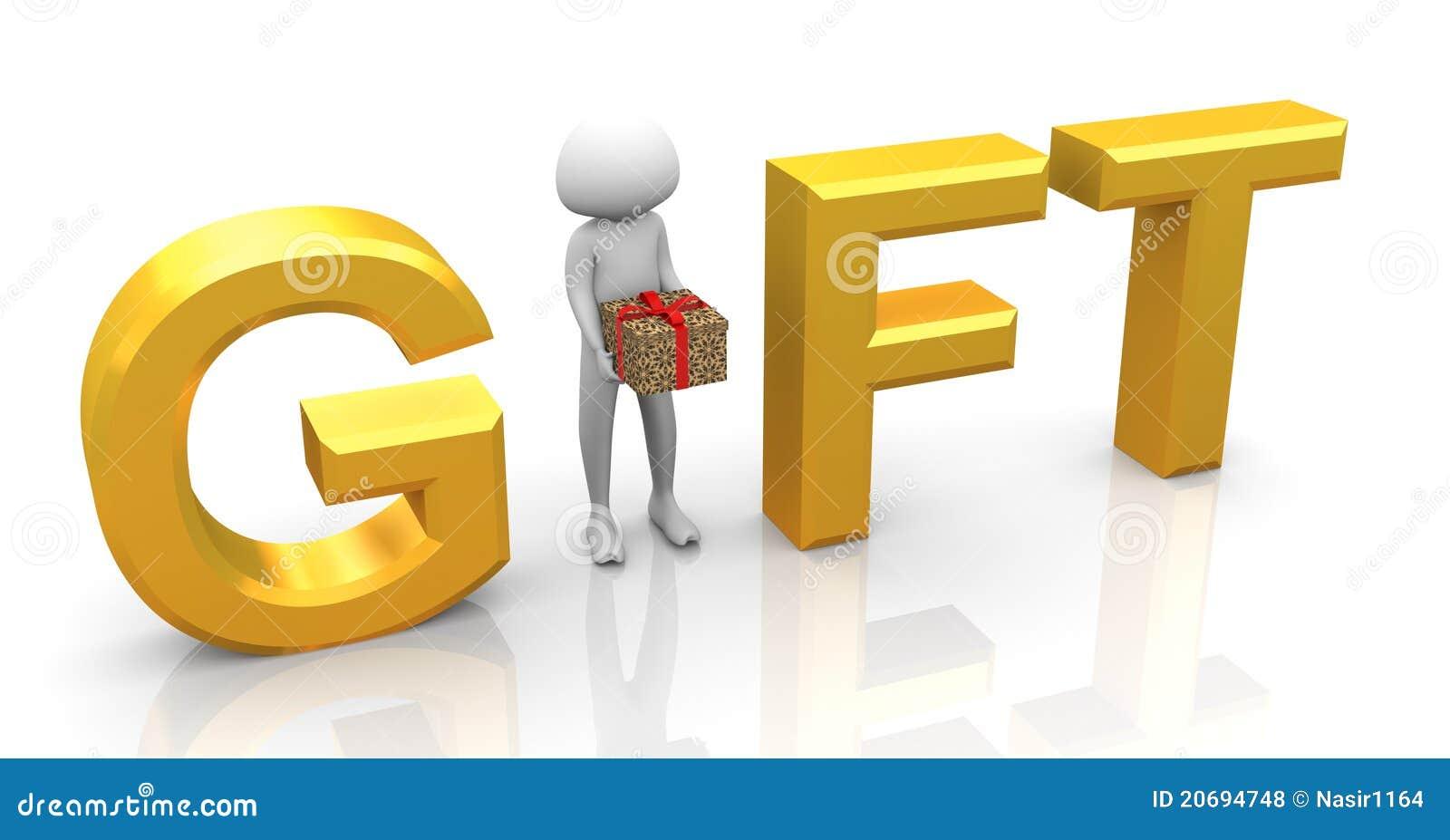 3d man gift stock illustration illustration of figure 20694748 3d man gift negle Gallery