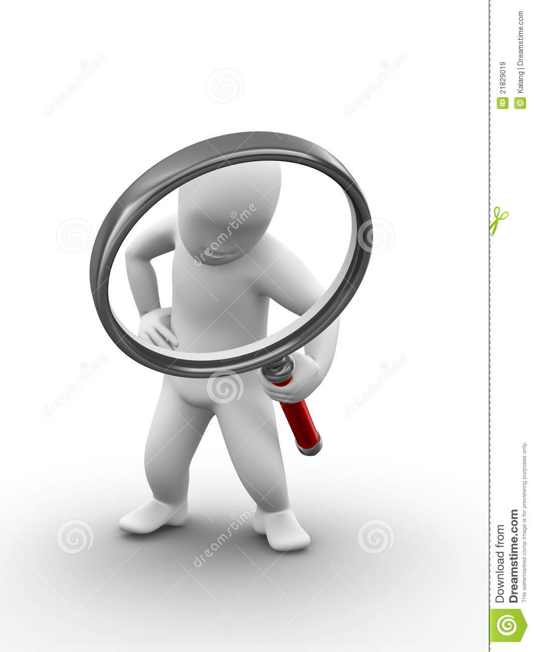 3d Man With Glass Search Something Royalty Free Stock Images - Image ...: www.dreamstime.com/royalty-free-stock-images-3d-man-glass-something...