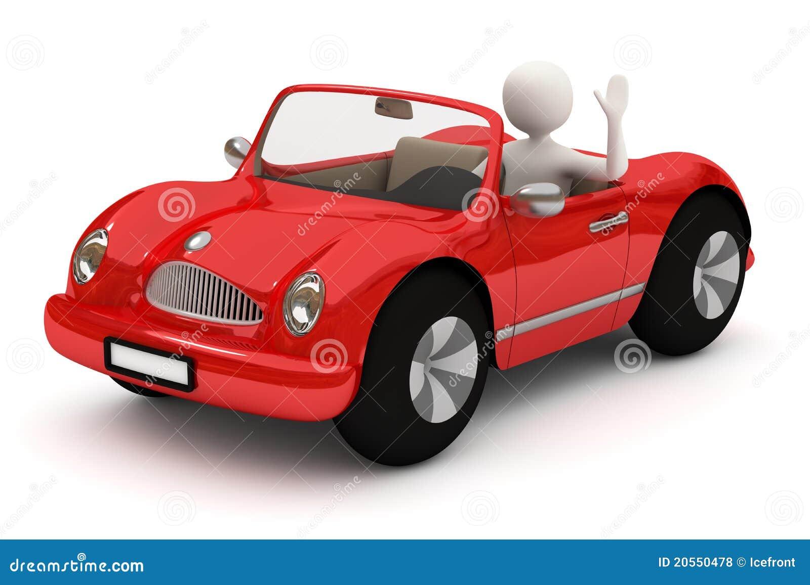Red Sports Car No Doors