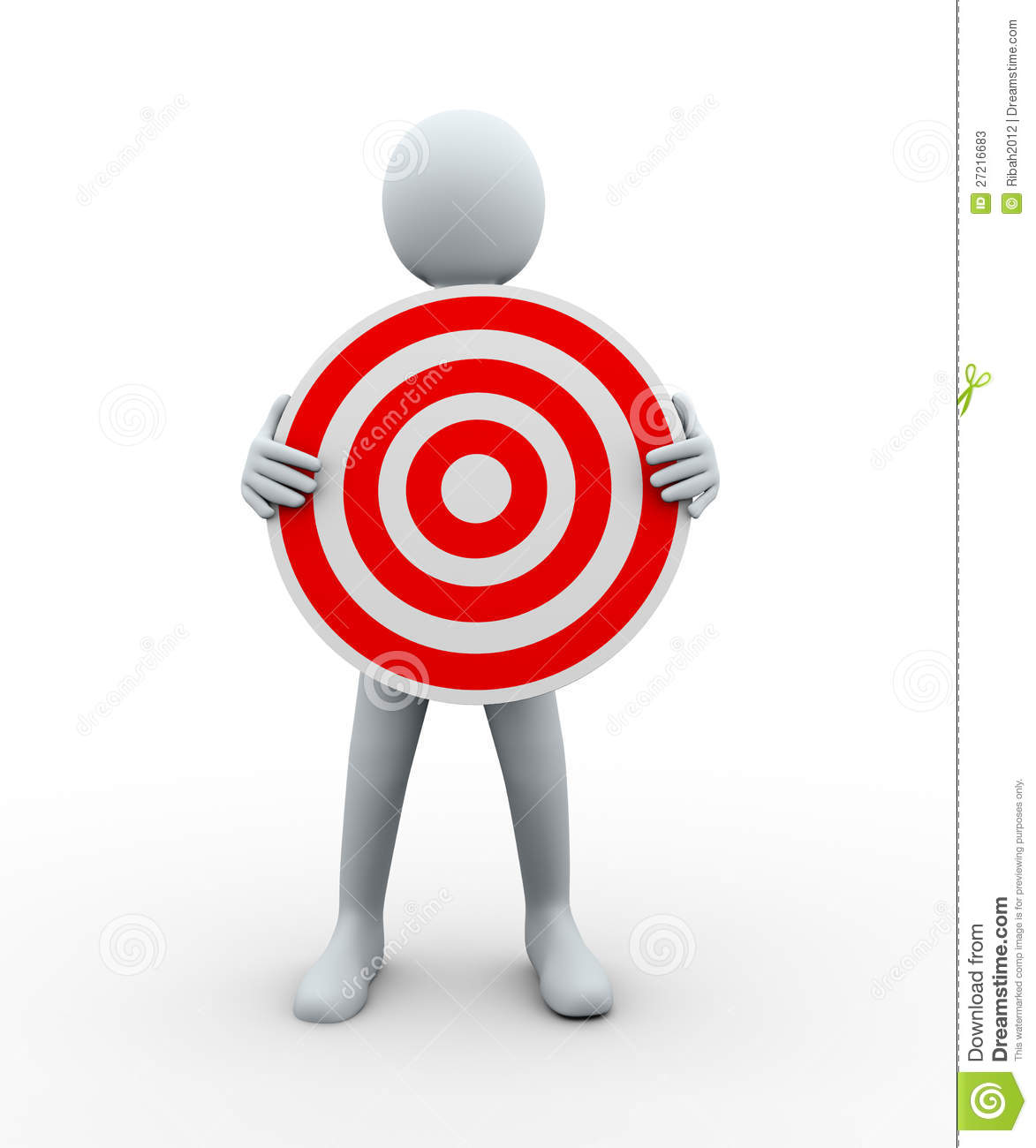 3d man holding target stock photos image 27216683 guy running clipart person running fast clipart