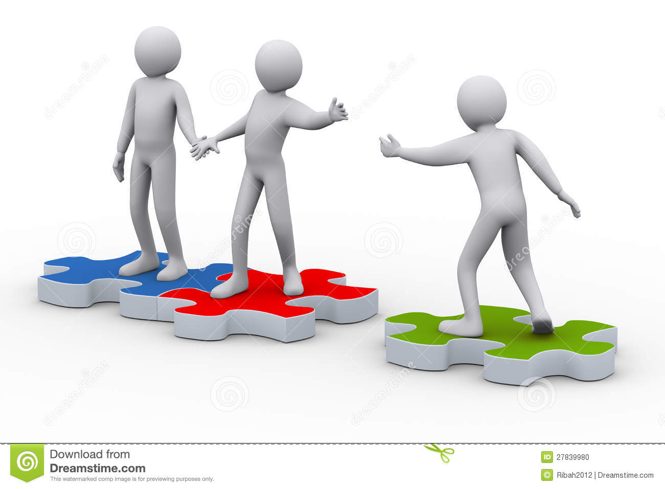 3d man on puzzle joining people stock photo image 27839980 social worker clip art puzzle social work clip art
