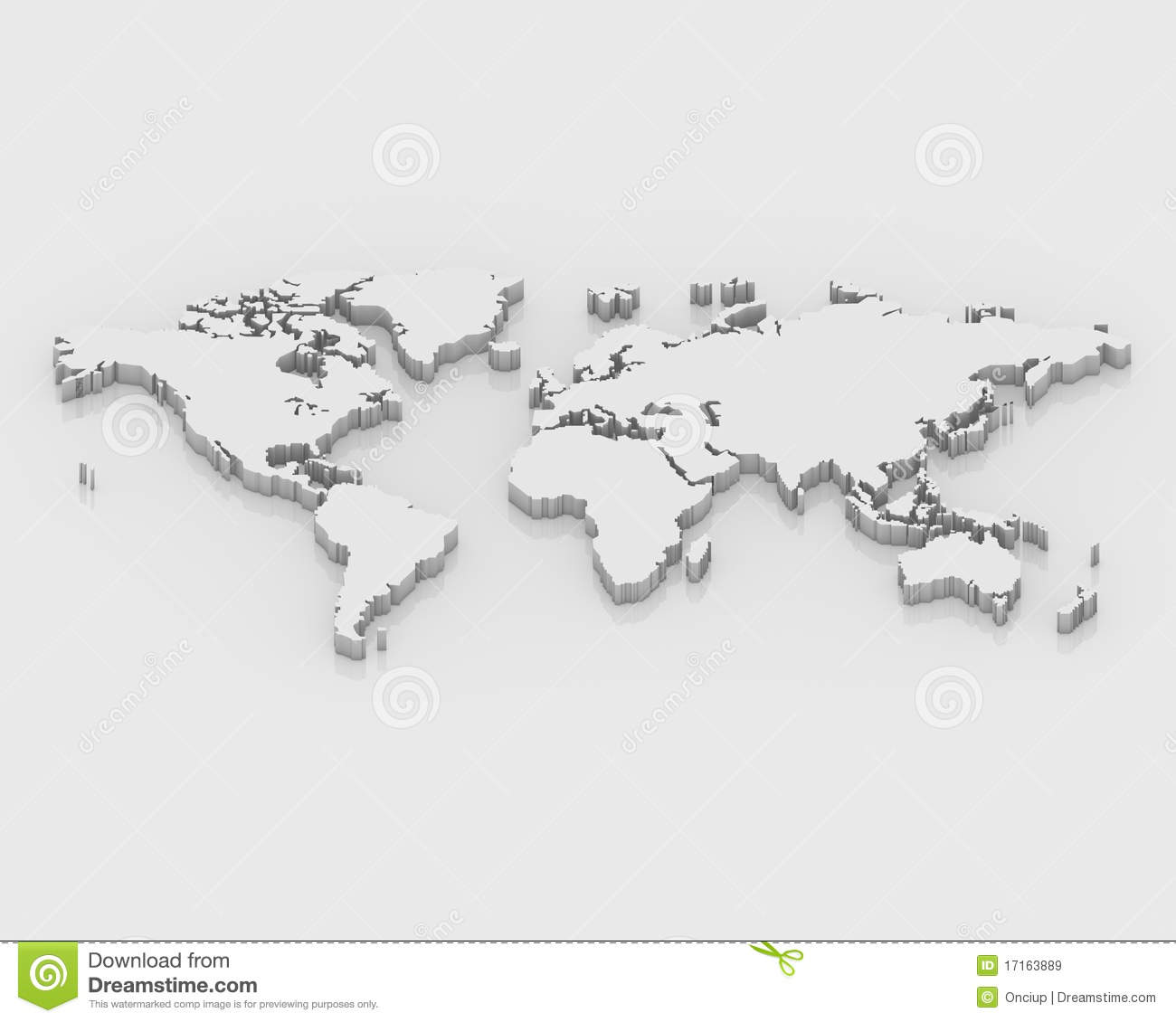 3d world map free download stl zoo map a 3d map world stock illustration illustration of australia 3d map world 17163889 royalty free stock gumiabroncs Choice Image