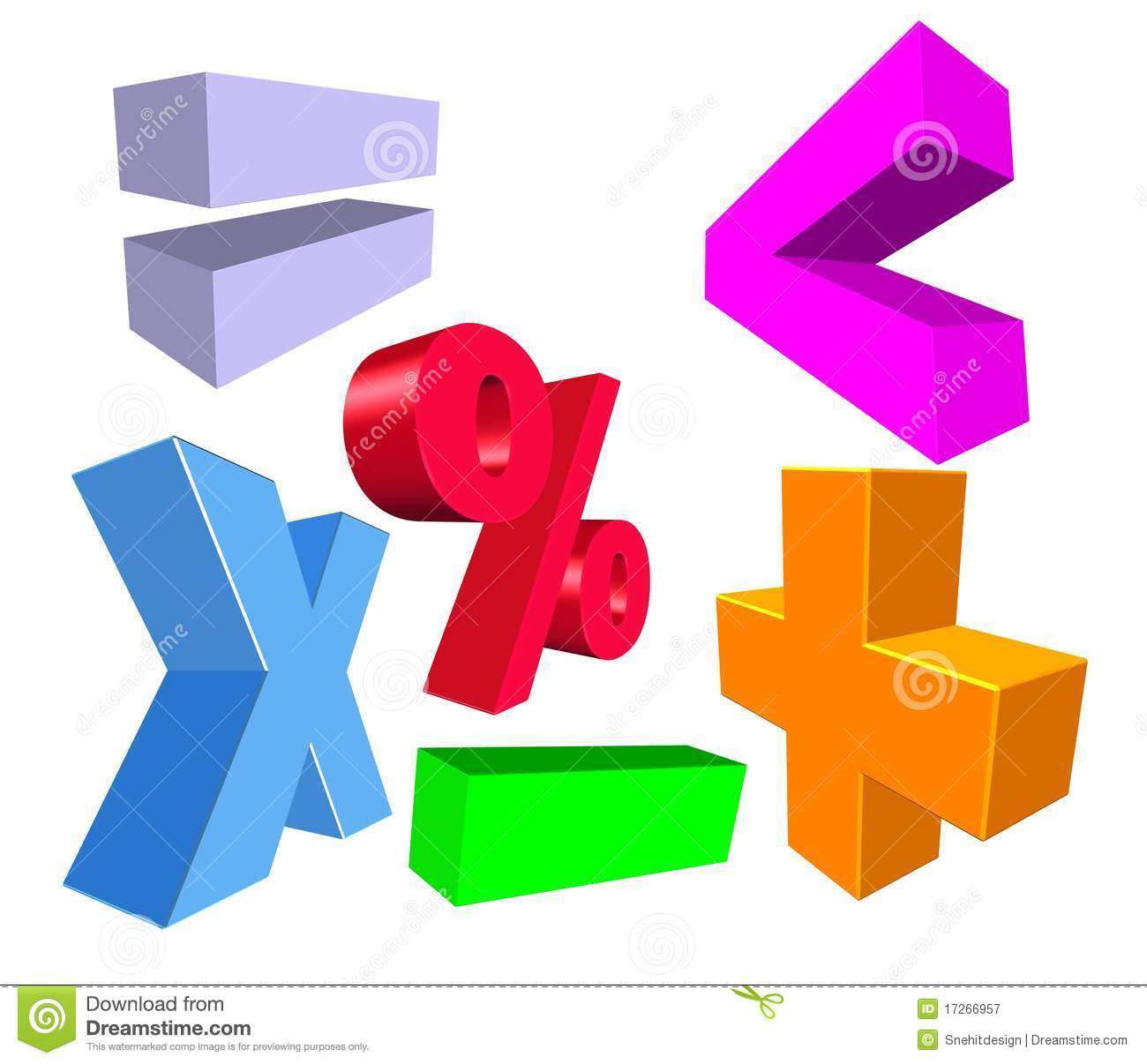 3d math symbols stock illustration illustration of signs 17266957 3d math symbols biocorpaavc