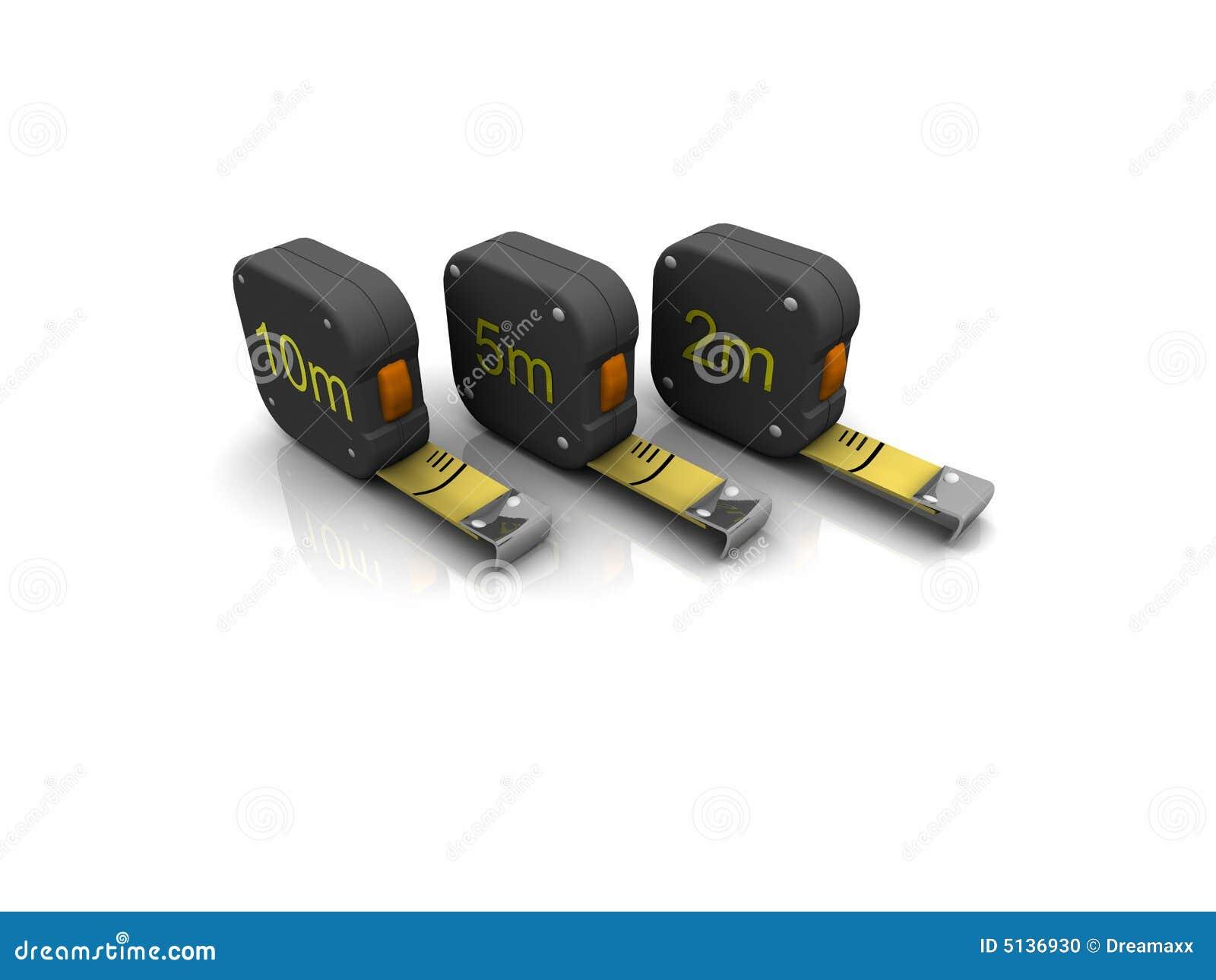 3d Measuring Tool Stock Photo Image 5136930