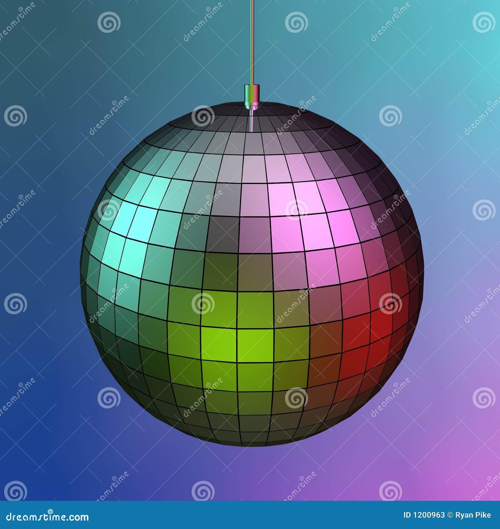 3d mirror ball
