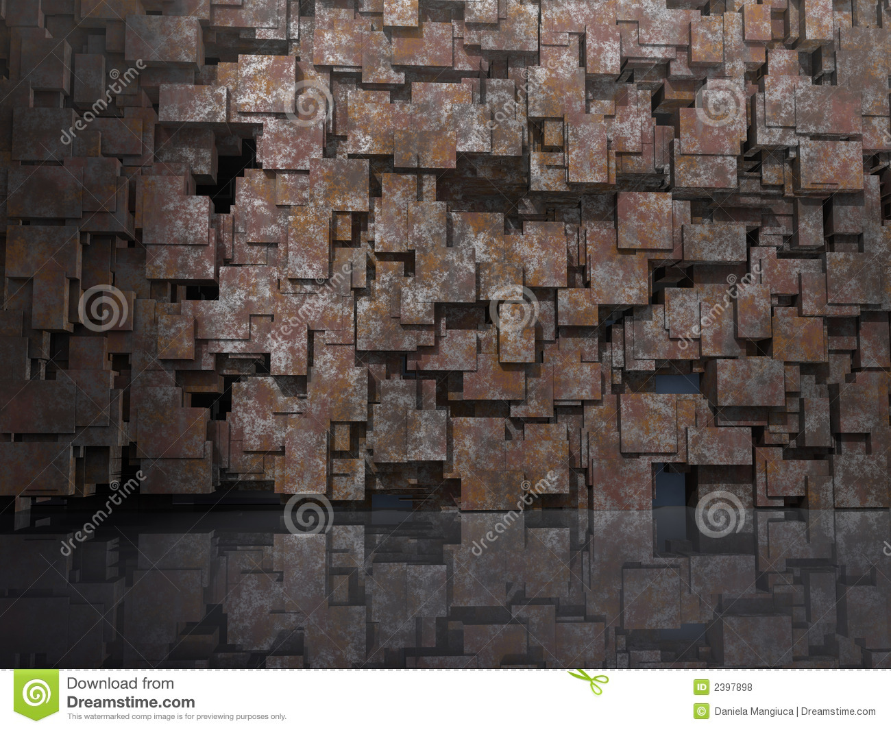 3D Model Background Royalty Free Stock Photos - Image: 2397898