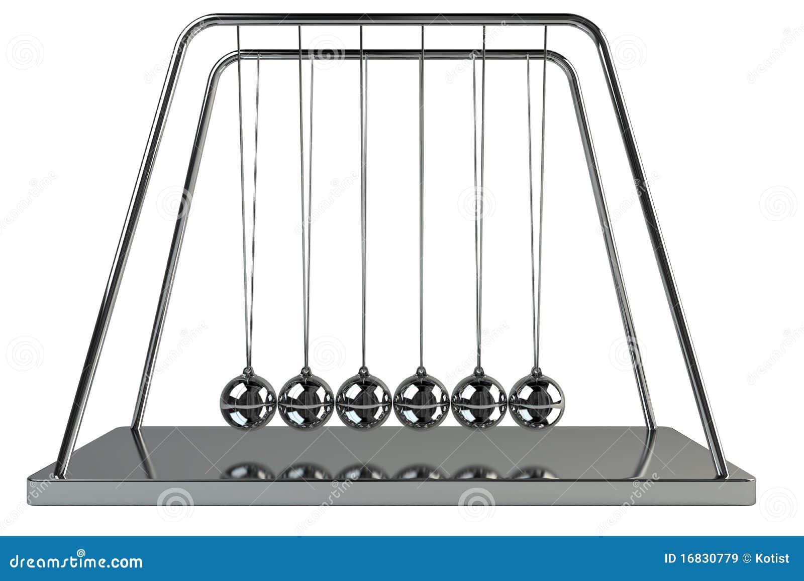 3d newton ball stock illustration illustration of motion 16830779