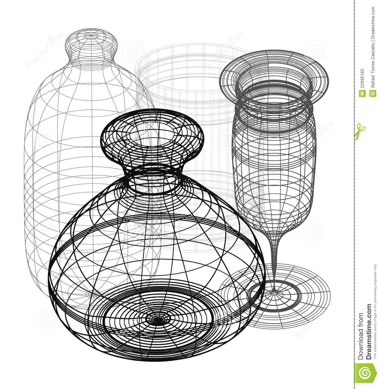 3d Objects Design Stock Photos Image 22935183
