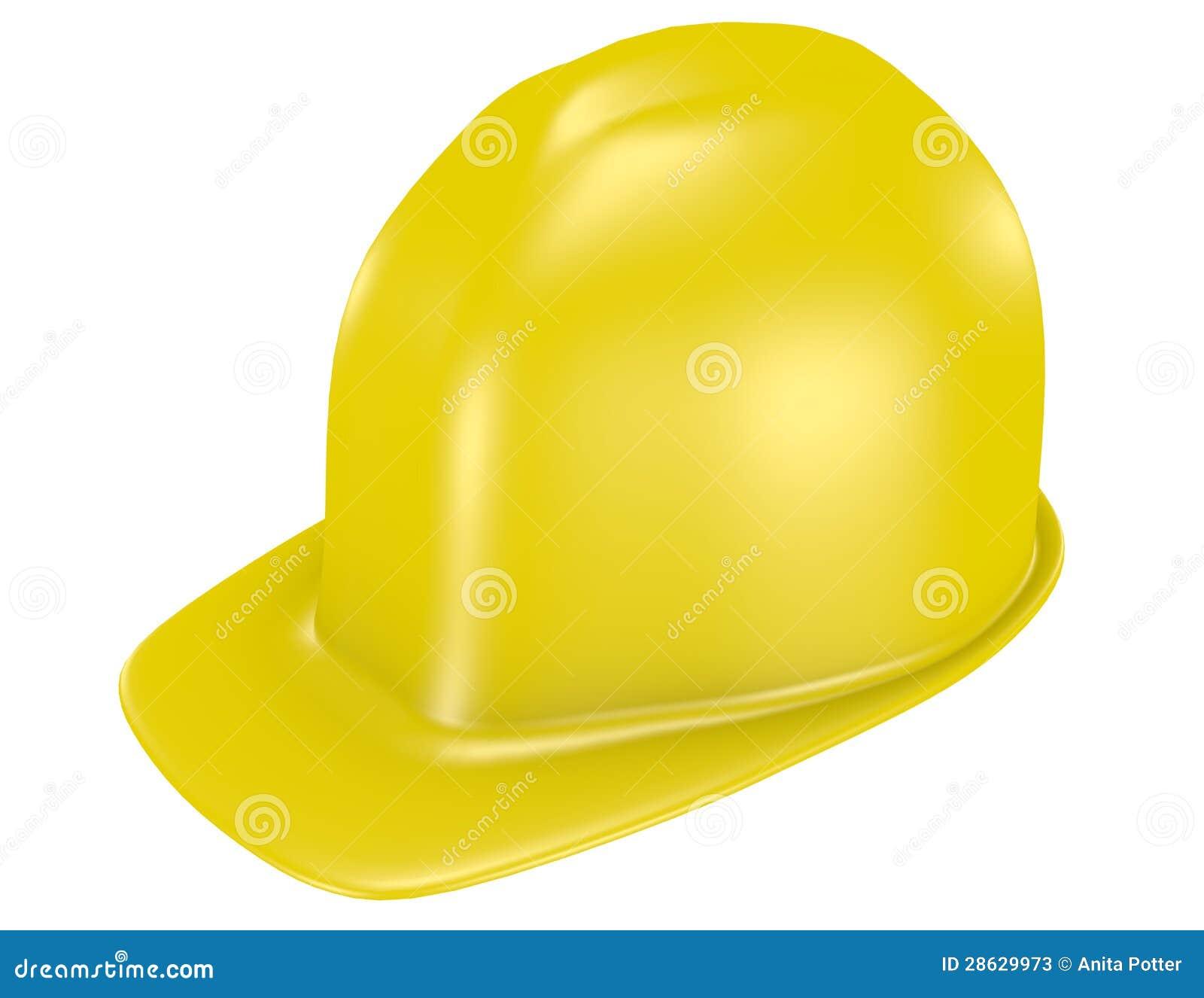 3d Odpłacają się Żółty Zbawczy hełm