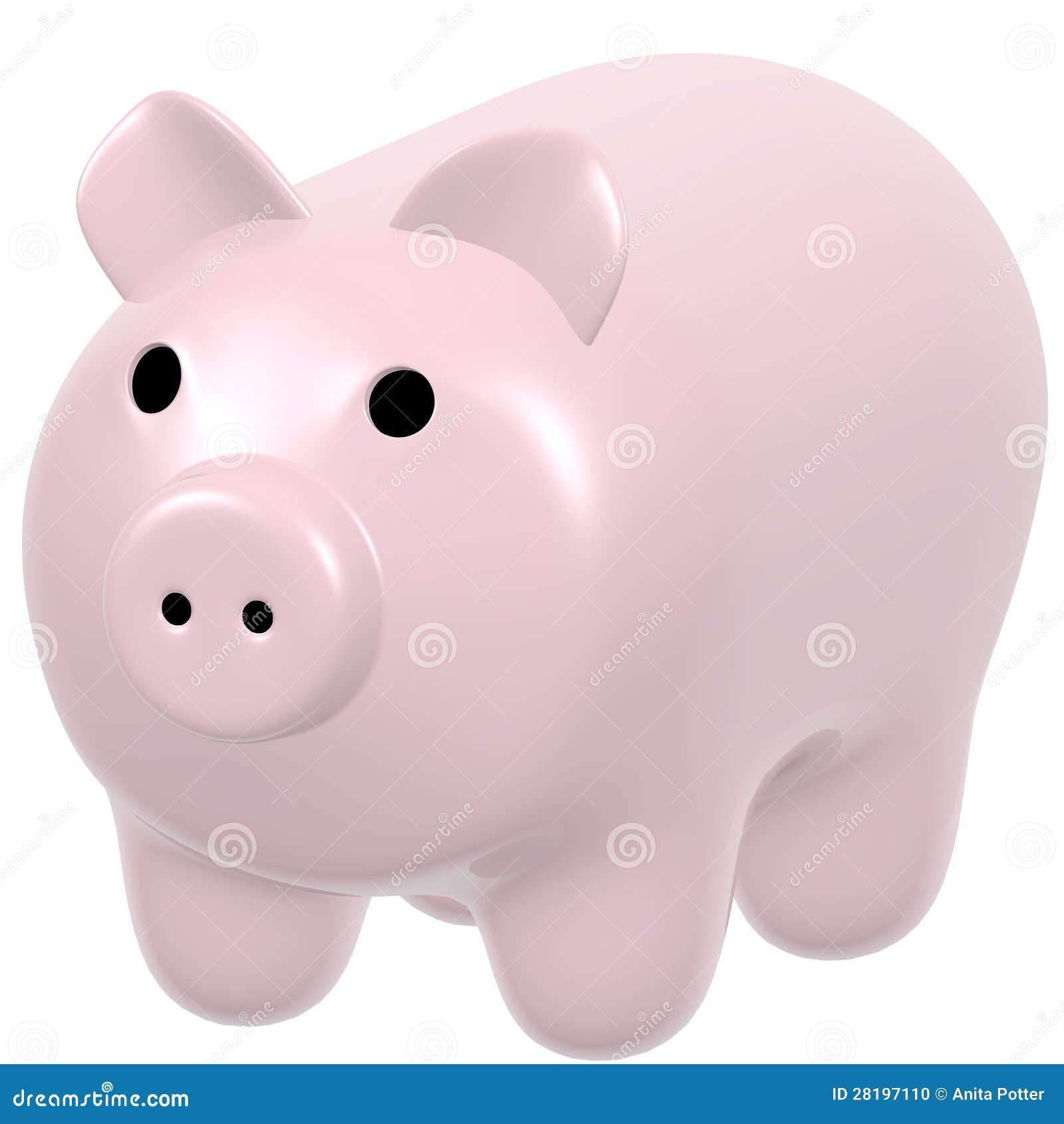 3d Odpłacają się porcelany świnia