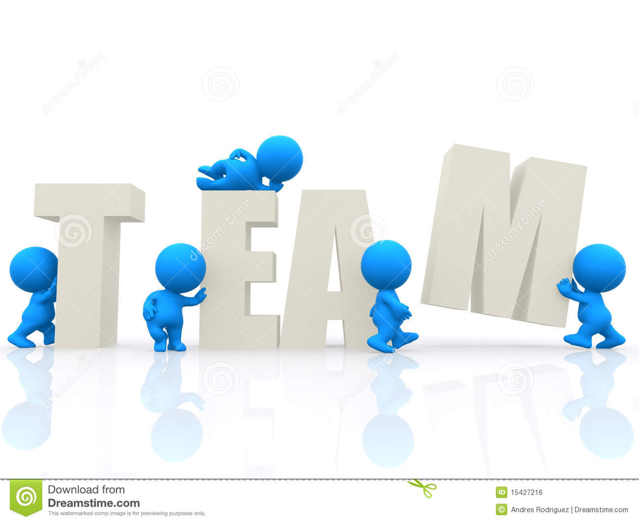 word team 3d around background royalty isolated