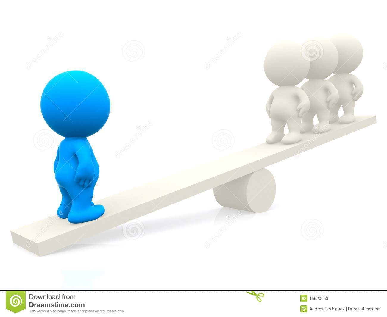 3d people on seesaw stock photos image 15520053 for Seesaw plans designs