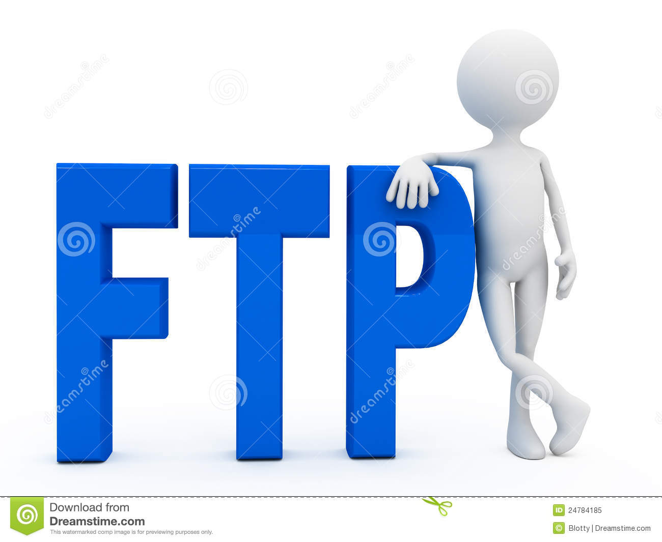 3d person near letters ftp over white background royalty service clip art church service clip art church