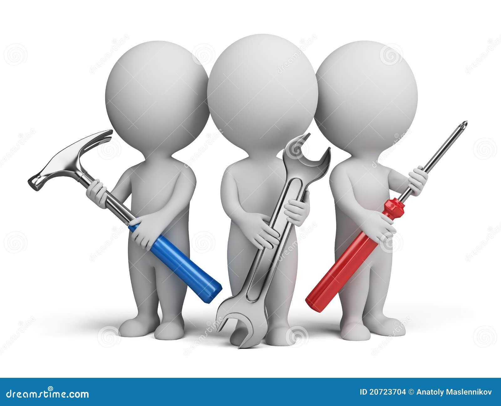 3d petits gens - réparateurs